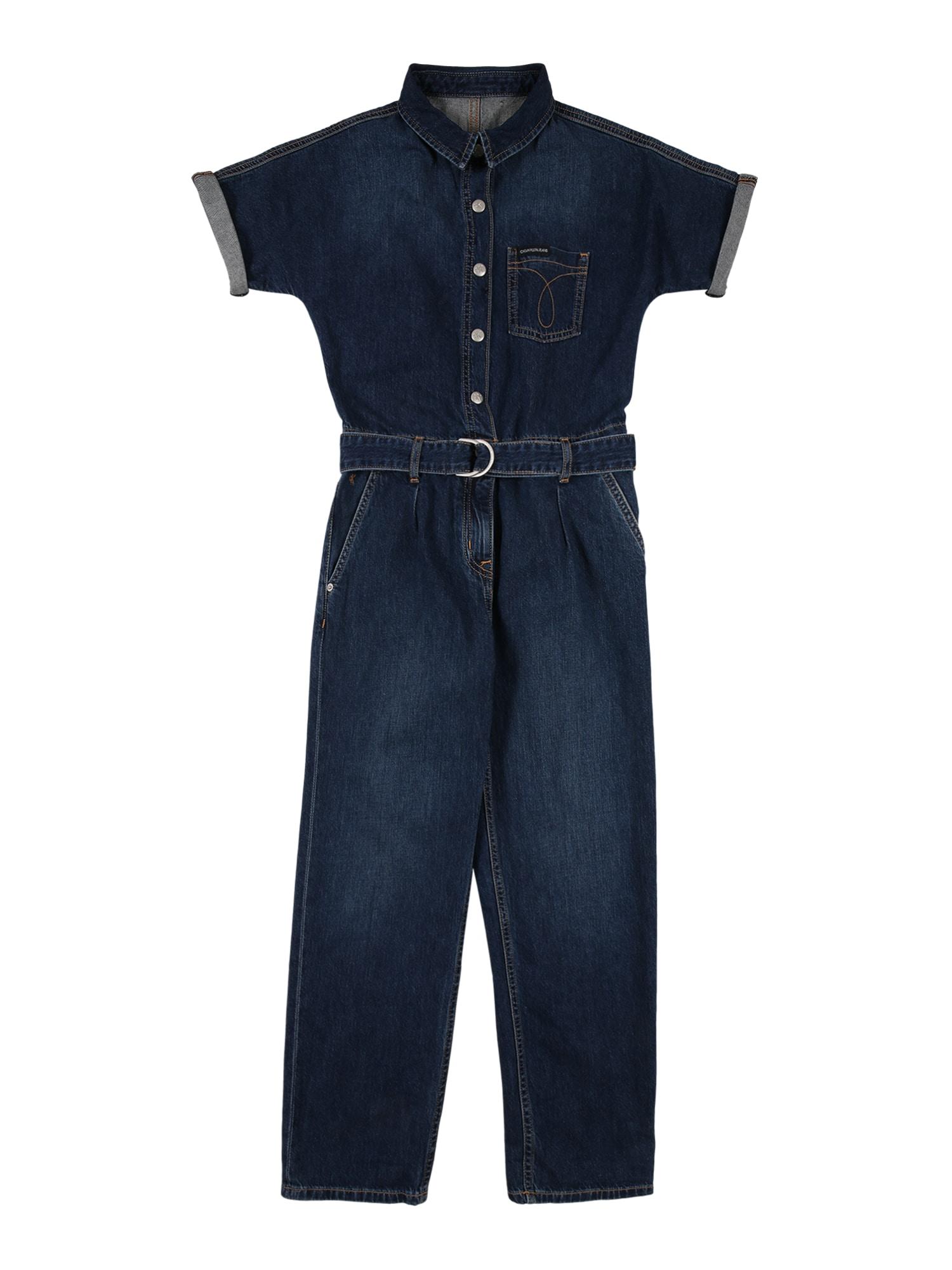 Calvin Klein Jeans Kombinezonas tamsiai (džinso) mėlyna
