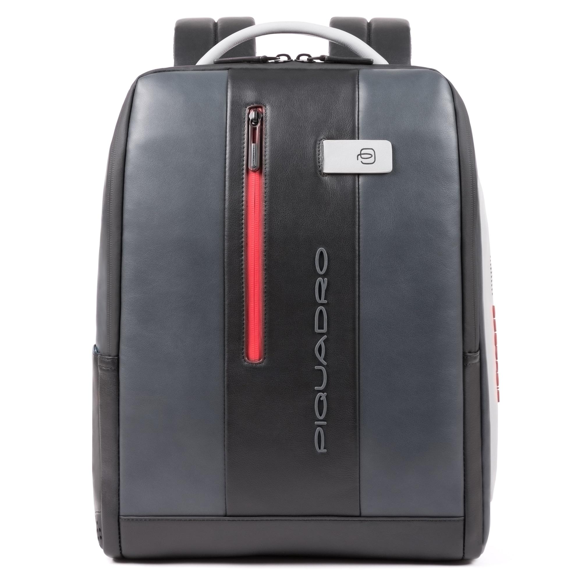 Urban Businessrucksack Leder 41 cm Laptopfach   Taschen > Rucksäcke > Businessrucksäcke   Piquadro
