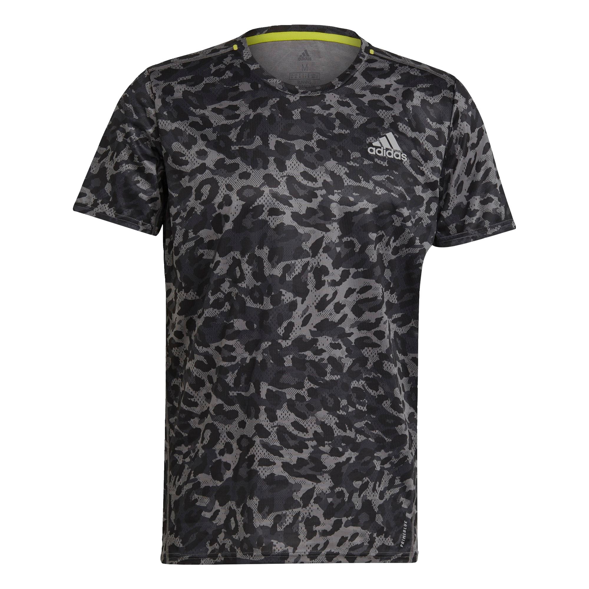 ADIDAS PERFORMANCE Sportiniai marškinėliai pilka / antracito / bazalto pilka