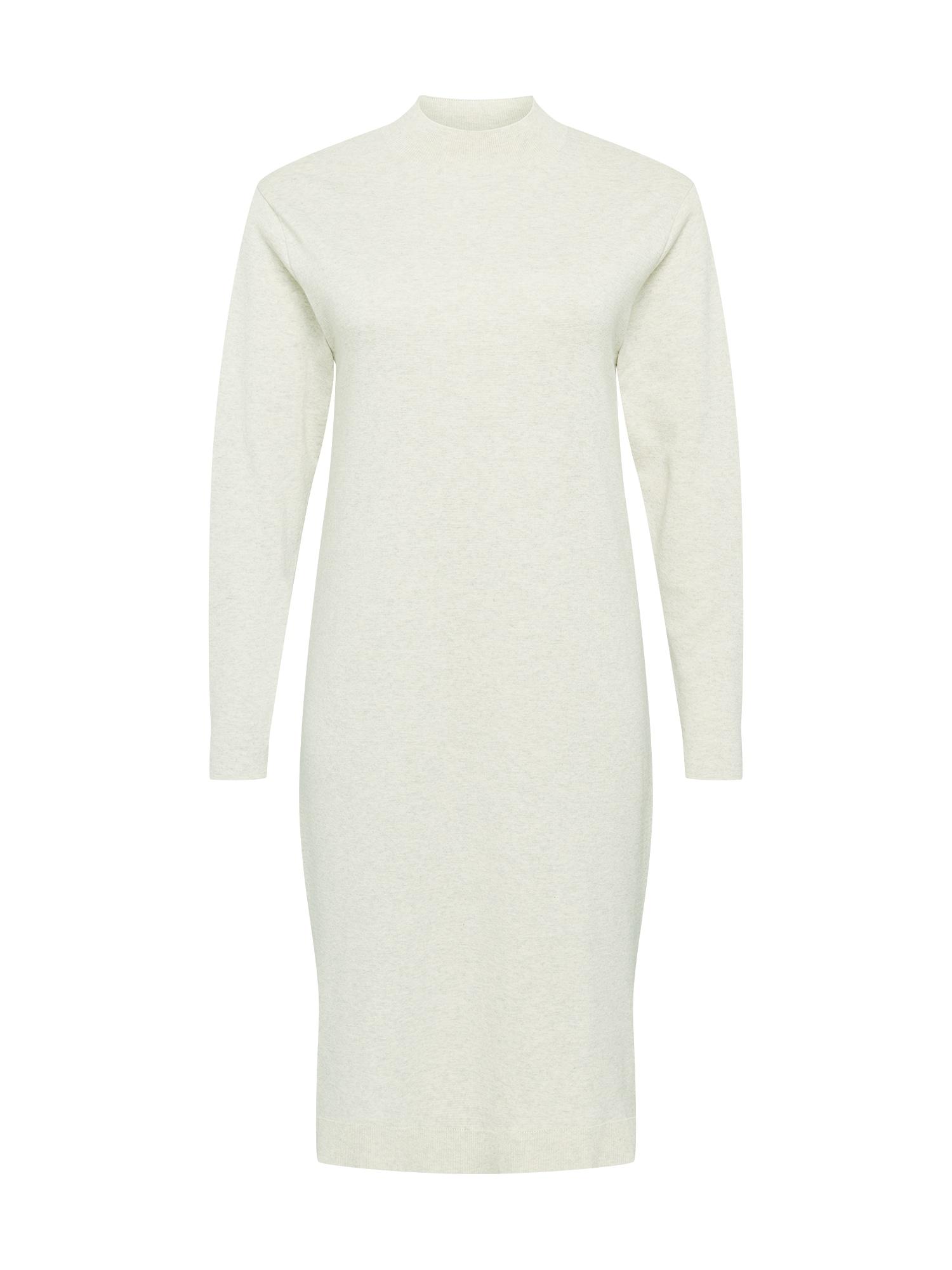 NU-IN Plus Suknelė margai balta
