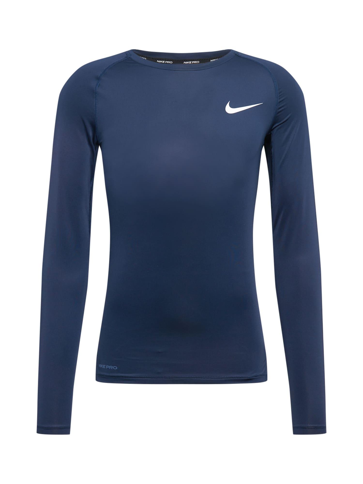 NIKE Sportiniai marškinėliai tamsiai mėlyna