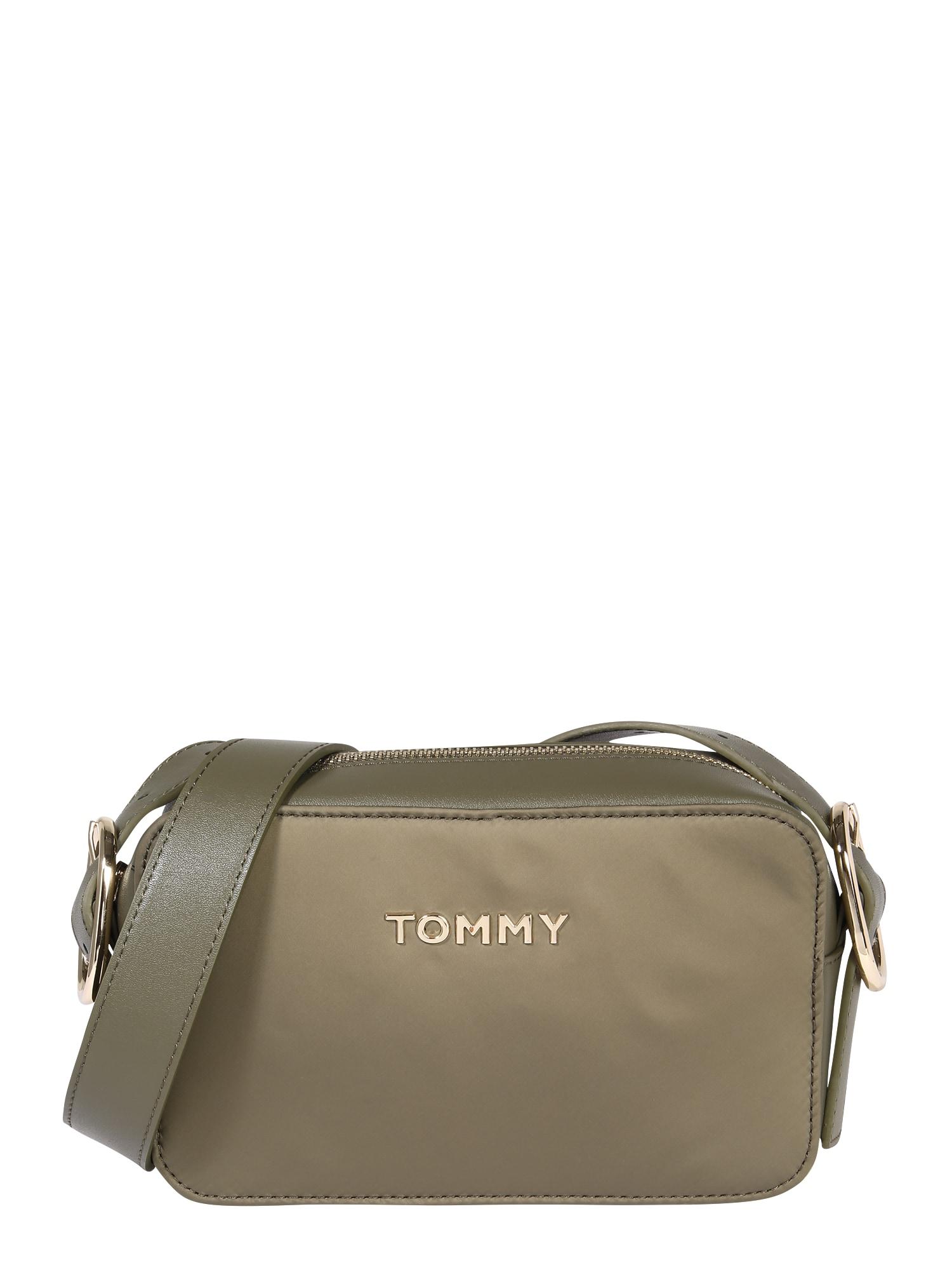 TOMMY HILFIGER Taška přes rameno  olivová