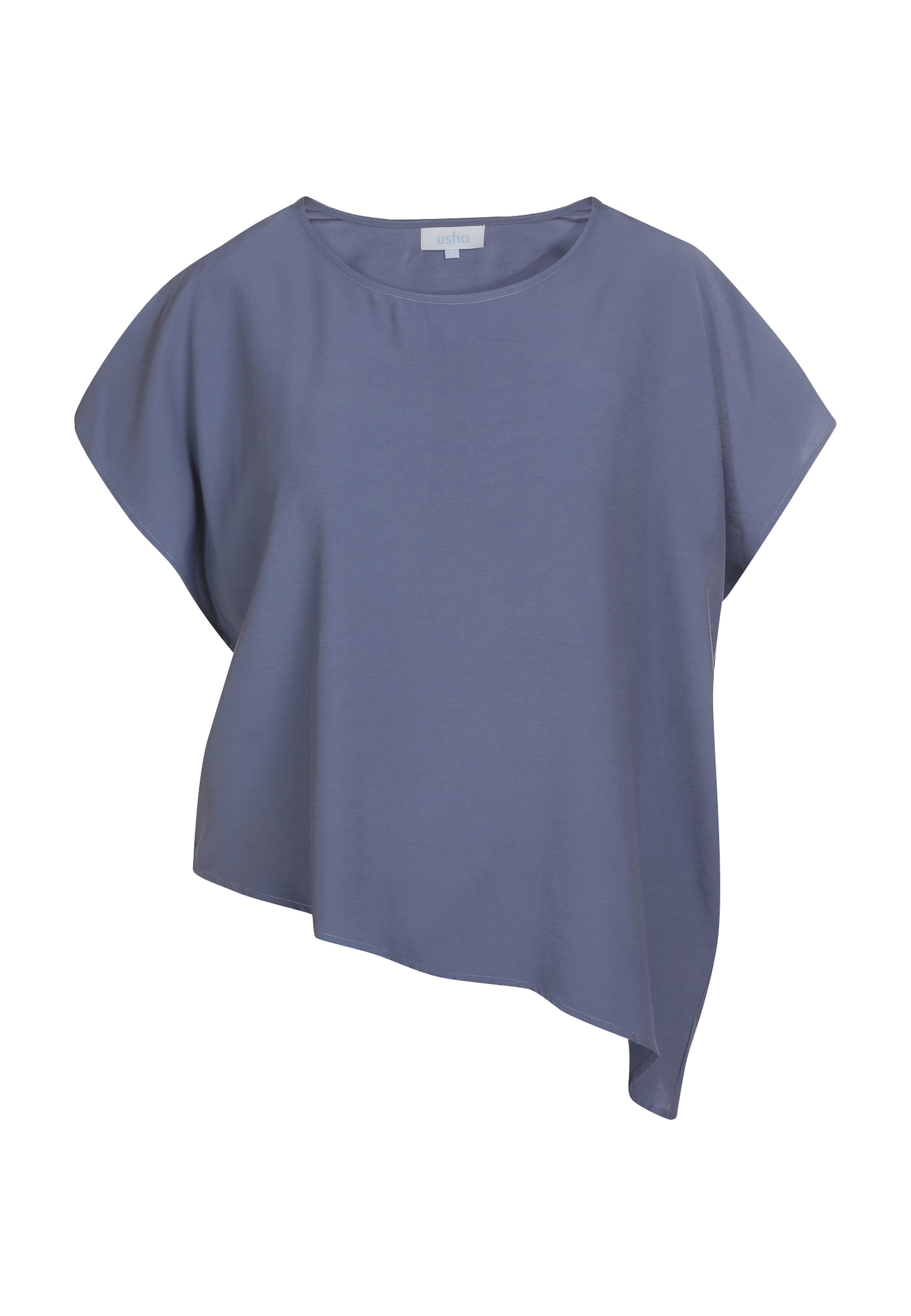 usha BLUE LABEL Marškinėliai melsvai pilka