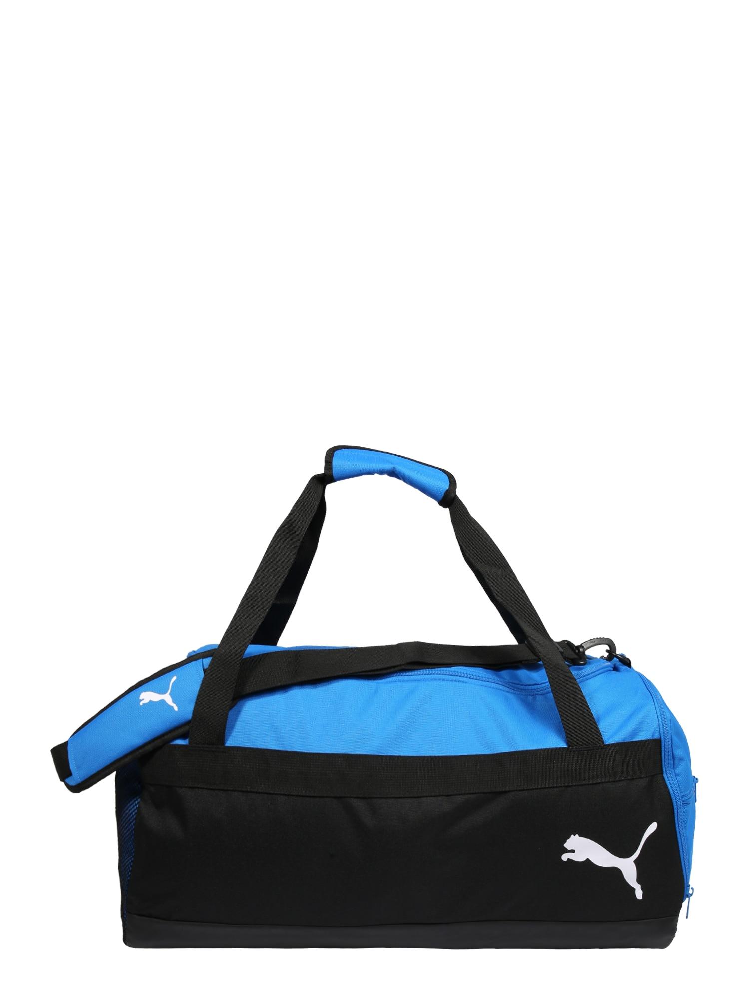 PUMA Sportinis krepšys mėlyna / juoda
