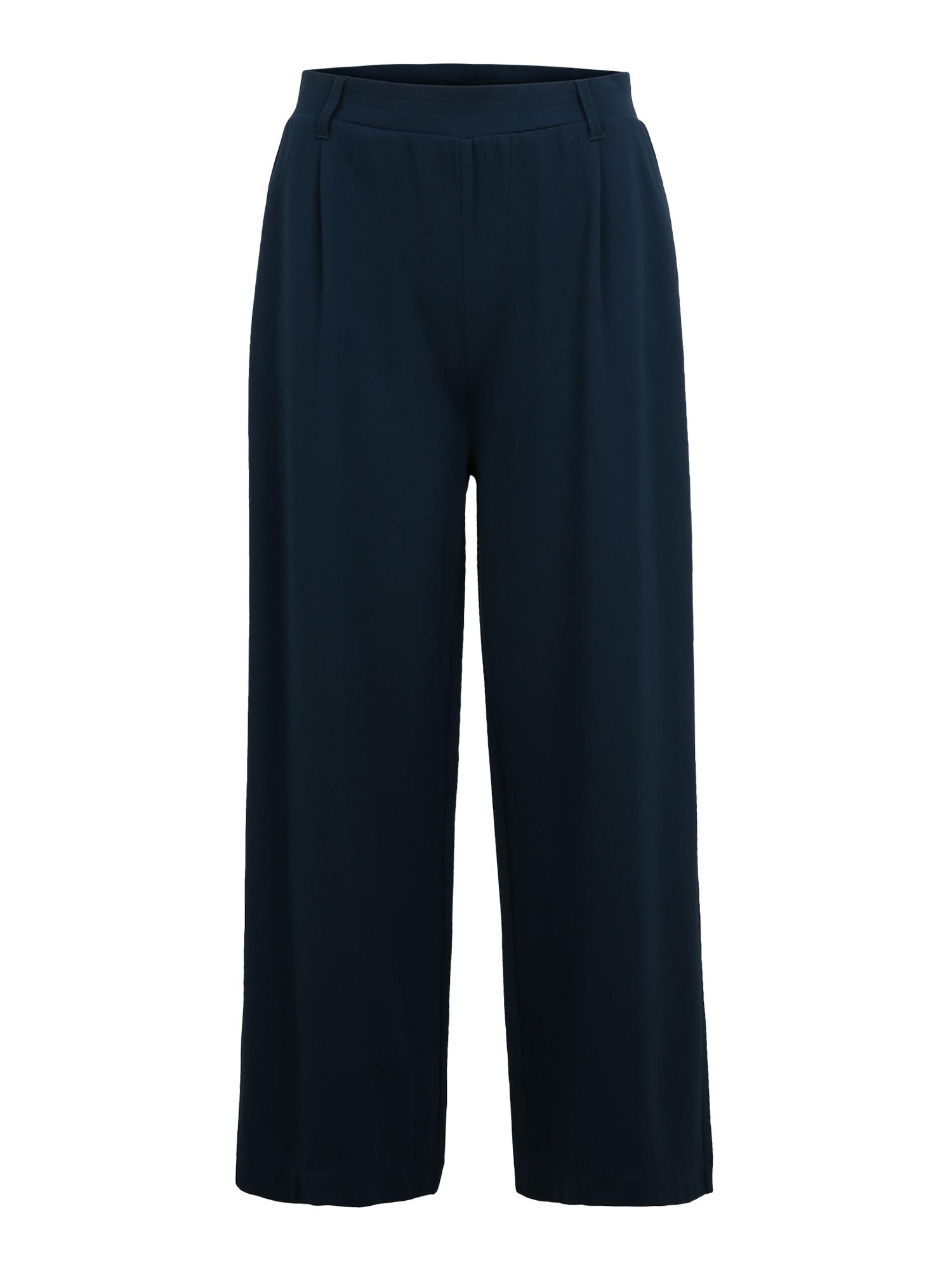 Q/S designed by Klostuotos kelnės tamsiai mėlyna