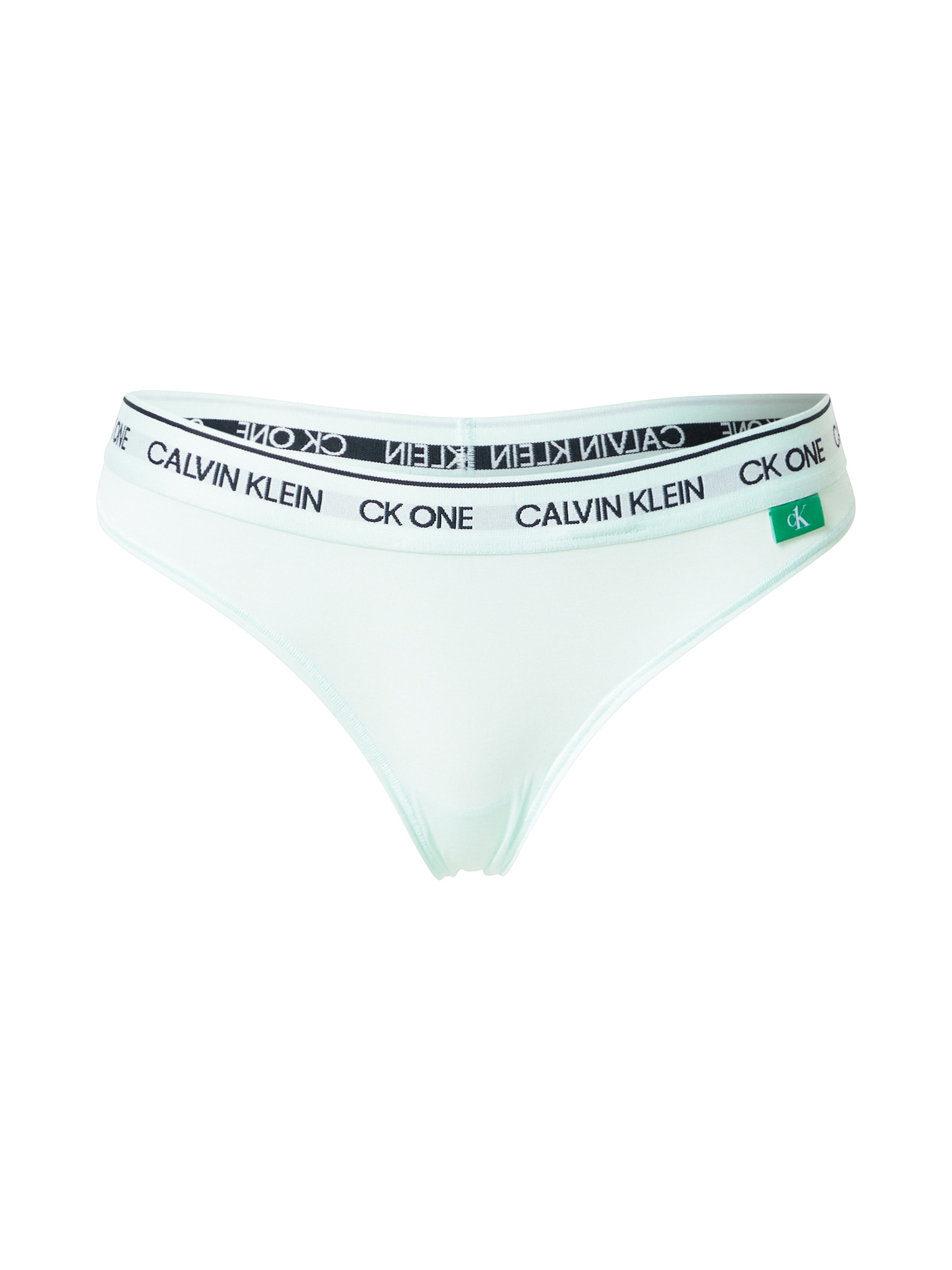 Calvin Klein Underwear Bikinio kelnaitės azuro / juoda