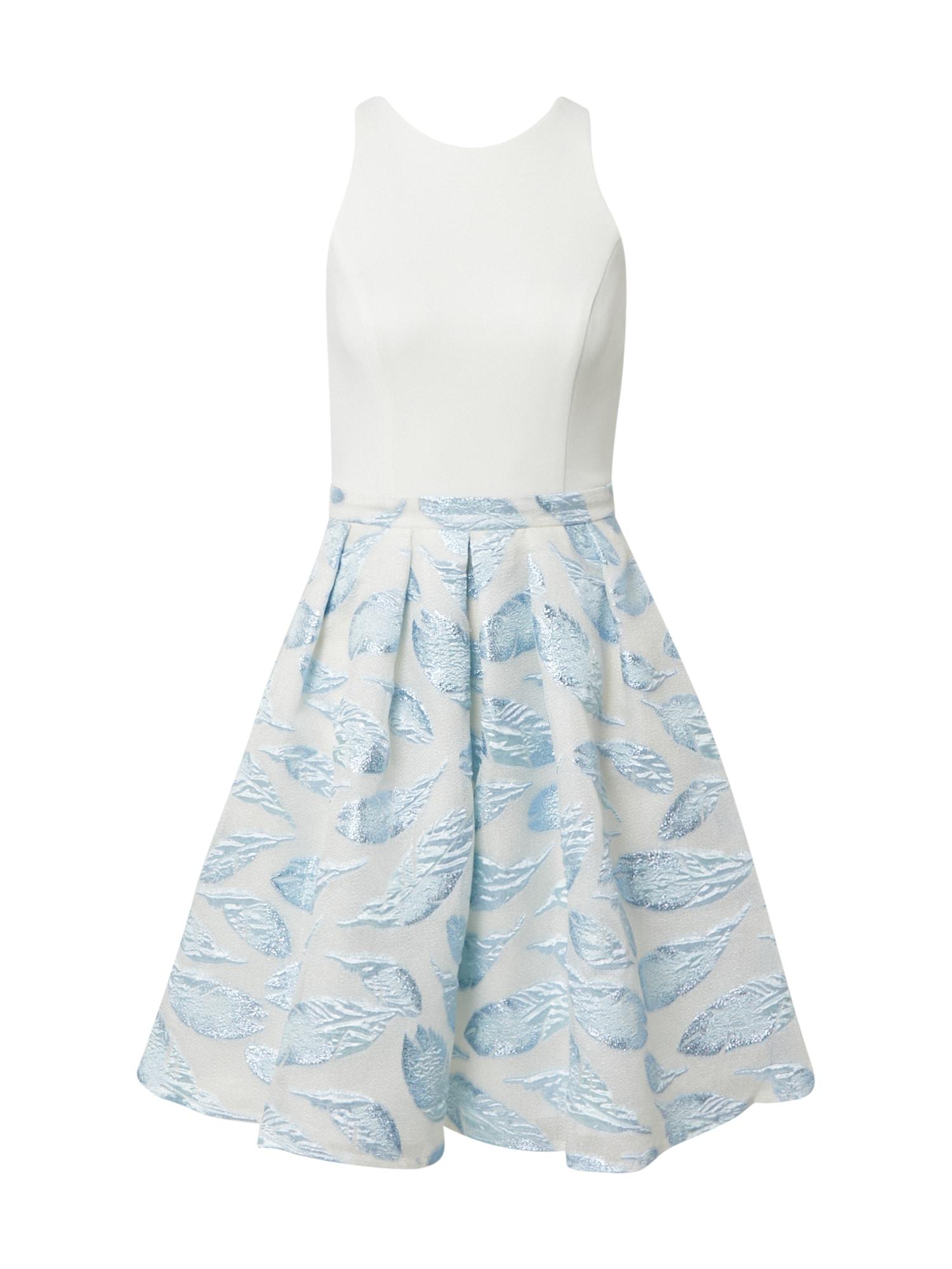SWING Kokteilinė suknelė opalo / balta