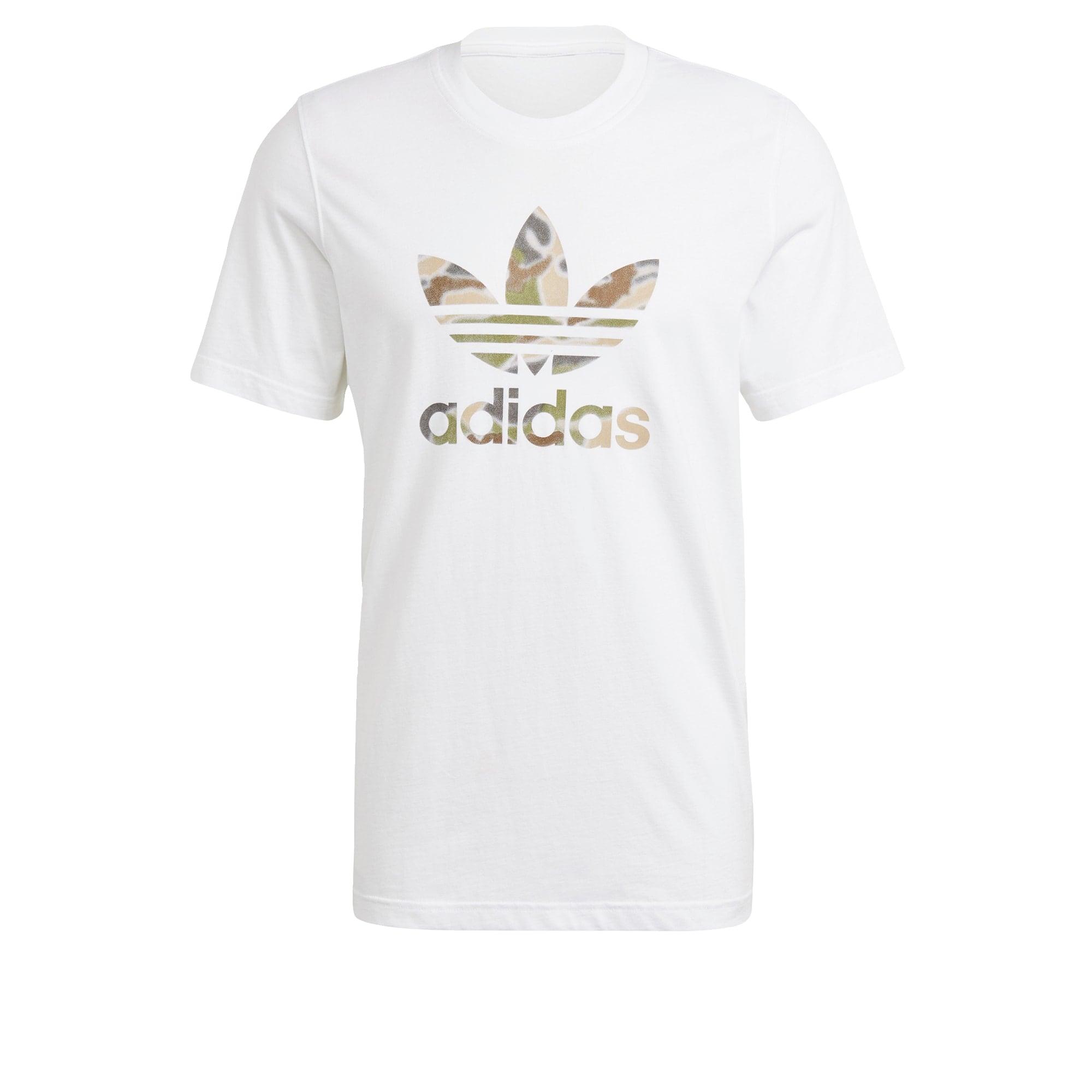 ADIDAS ORIGINALS Marškinėliai balta / auksas