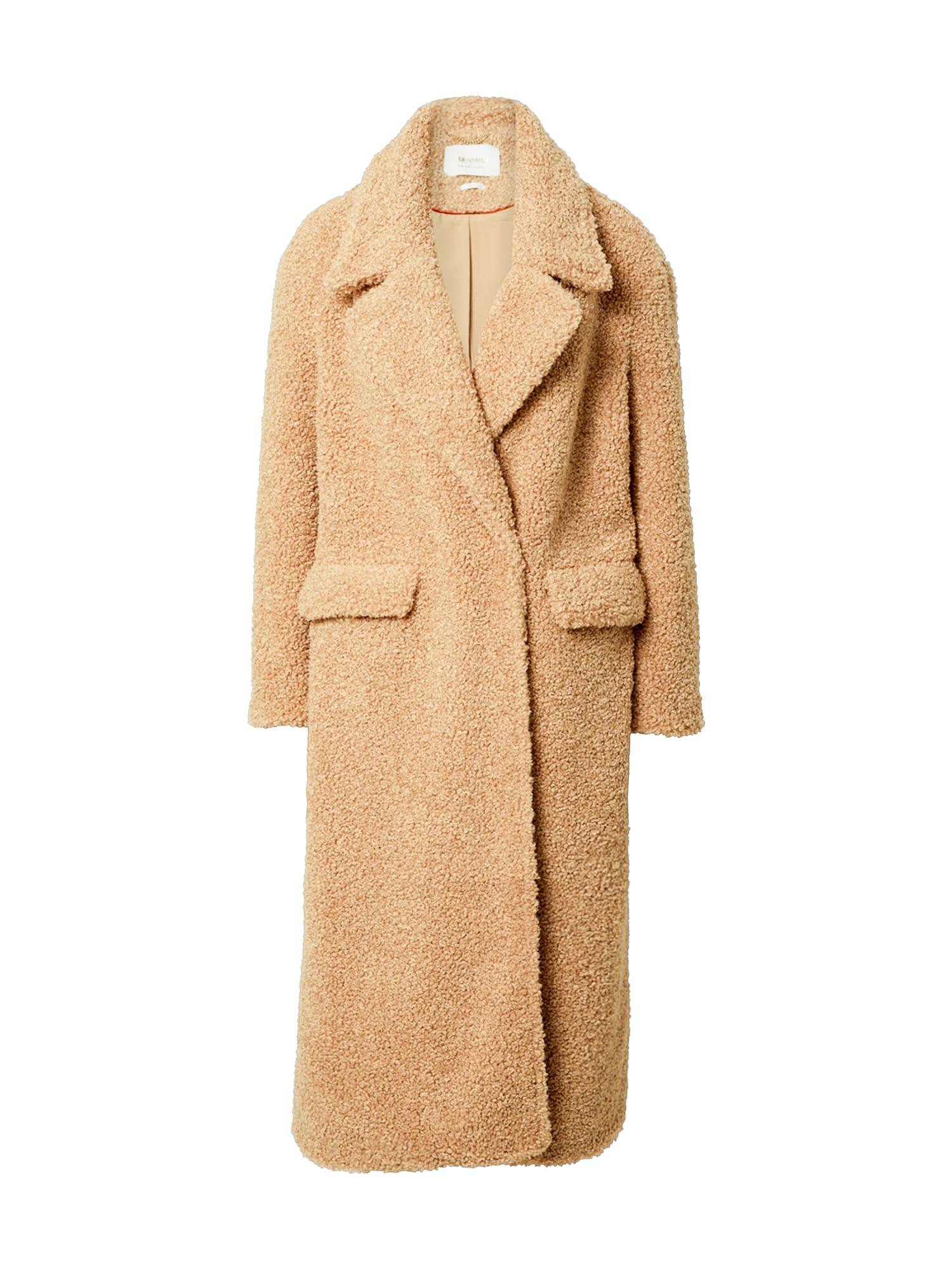 Rich & Royal Demisezoninis paltas ruda