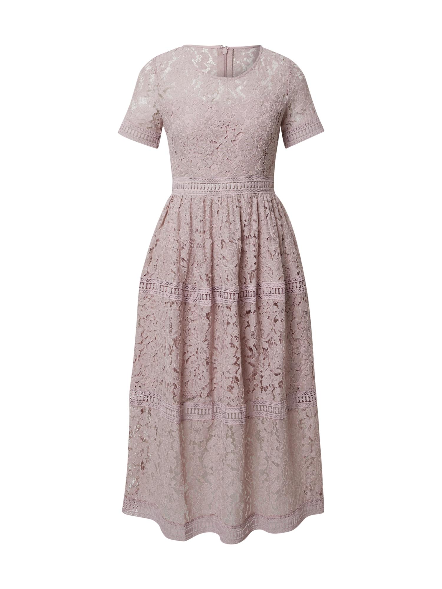 APART Vakarinė suknelė rausvai violetinė spalva