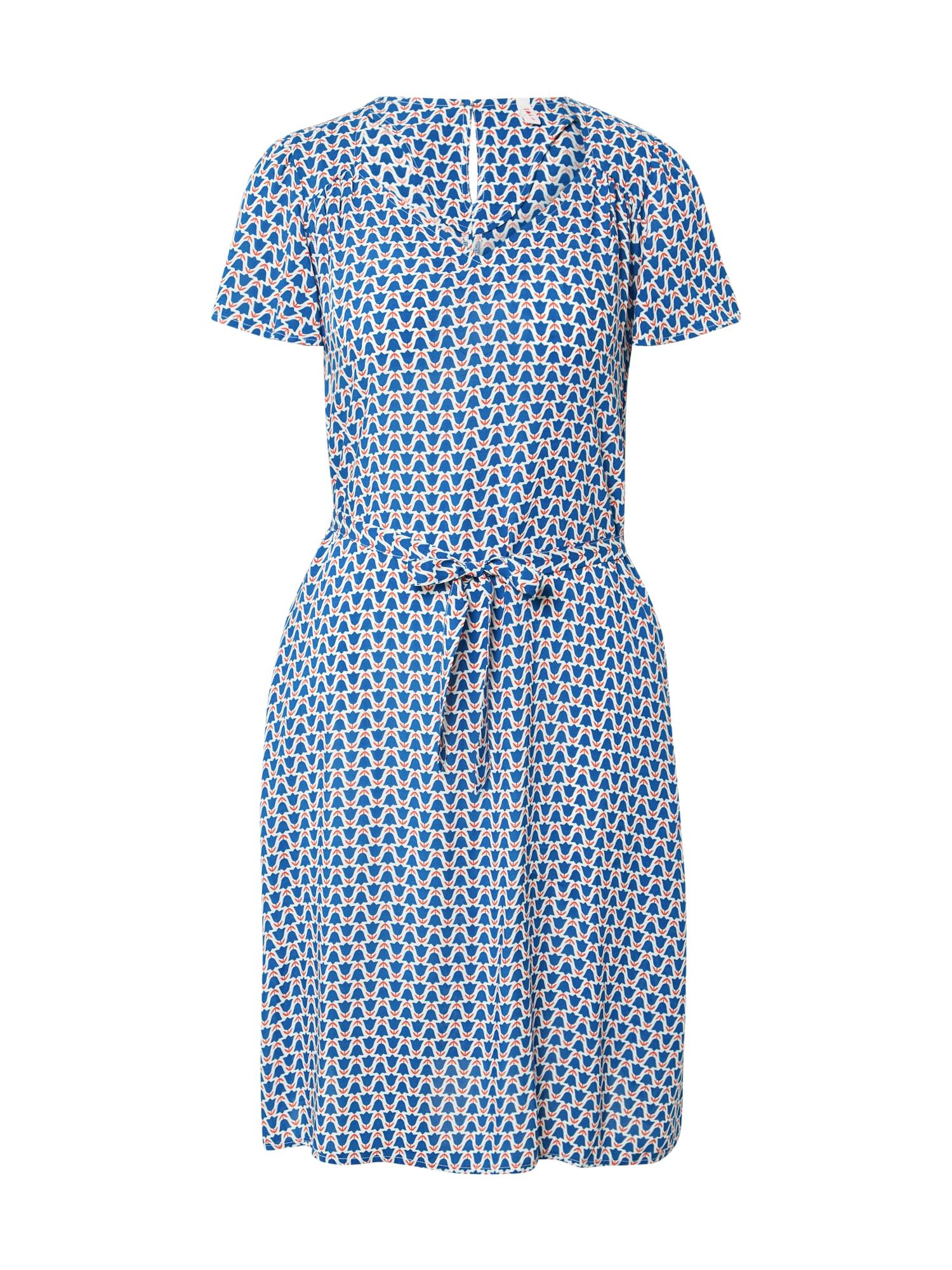 Blutsgeschwister Vasarinė suknelė mėlyna / balta / raudona