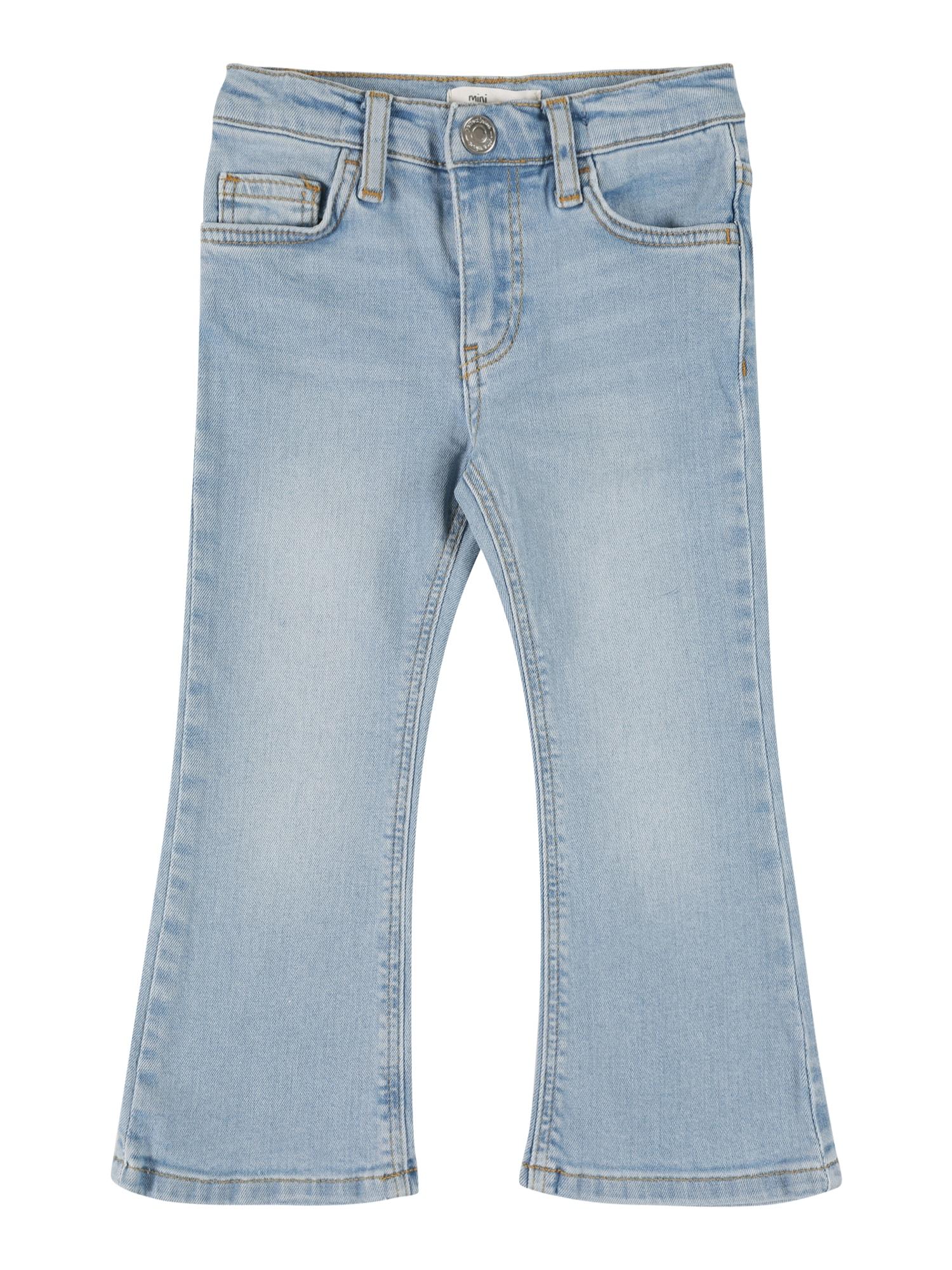 Gina Tricot Mini Džinsai šviesiai mėlyna