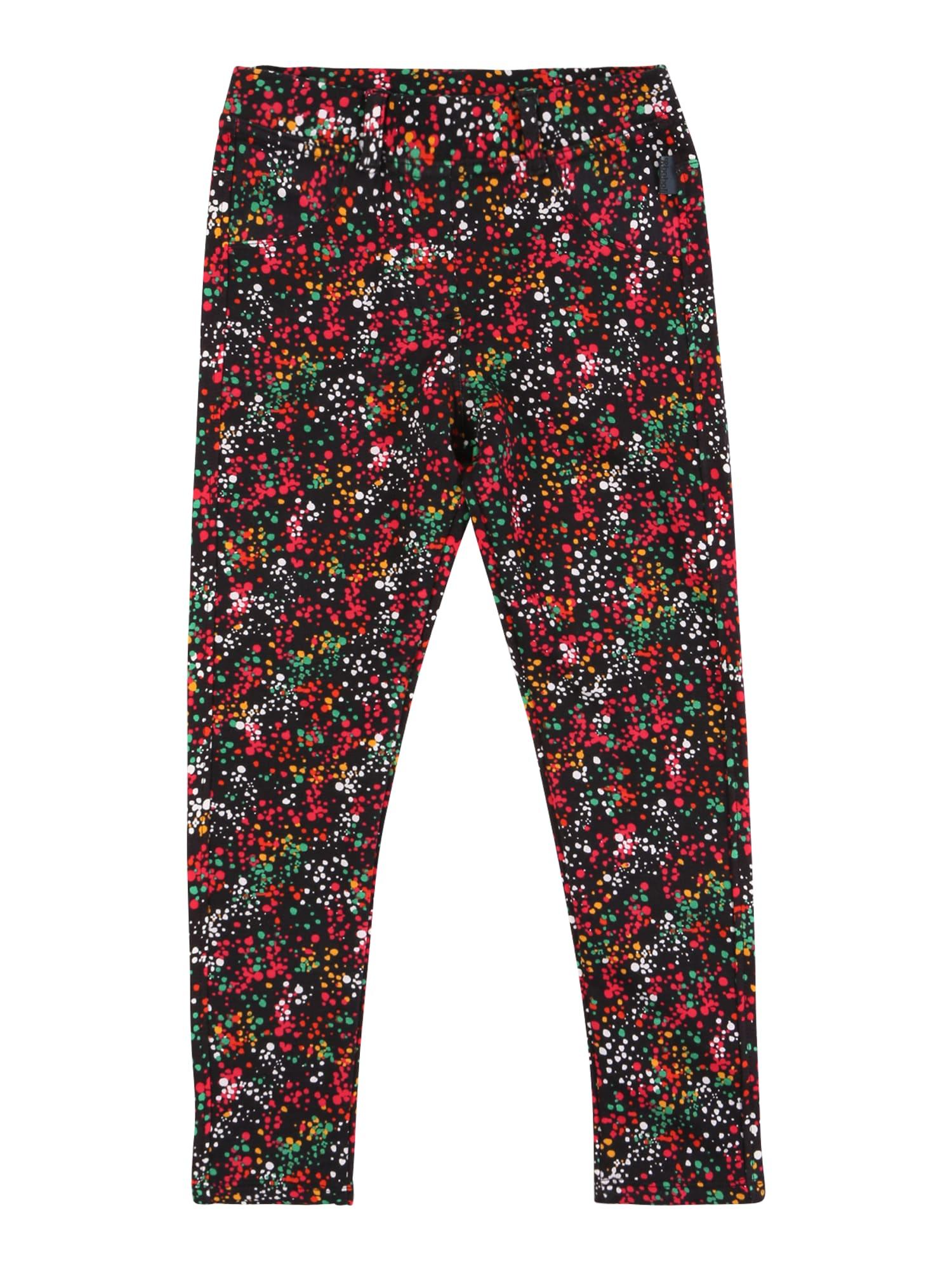 Boboli Kalhoty  černá / bílá / červená / zelená / oranžová