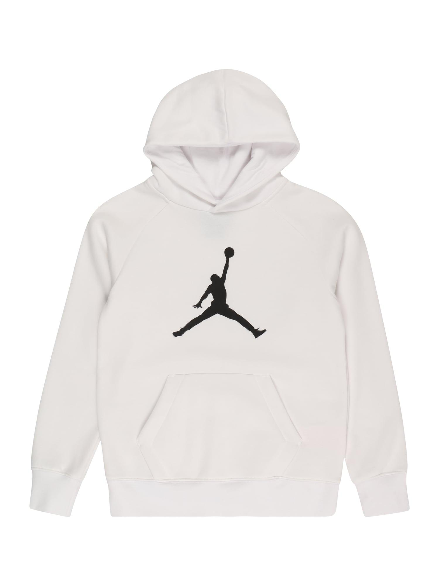 Jordan Megztinis be užsegimo balta