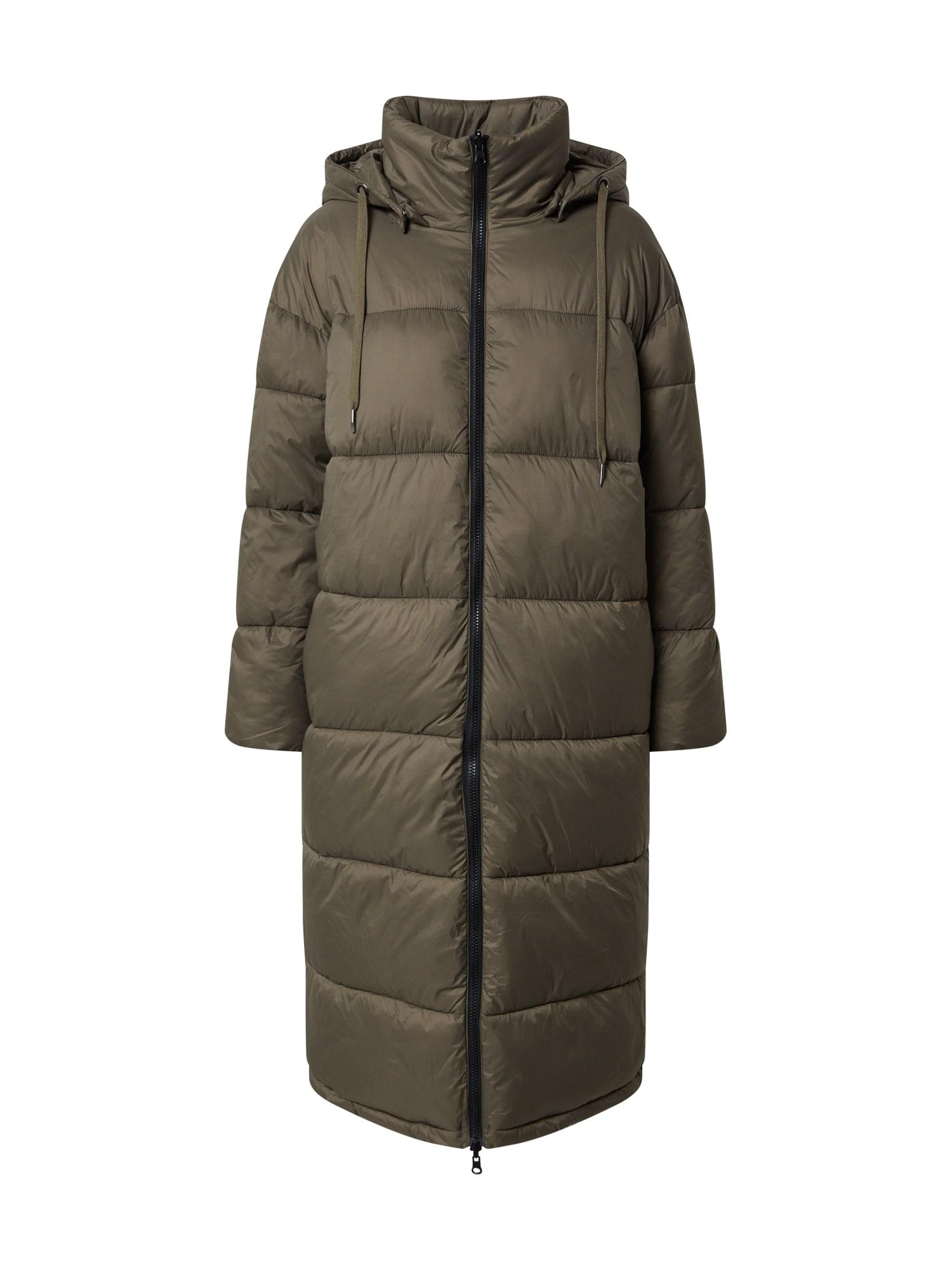 EDITED Zimní kabát 'Olwen'  zelená