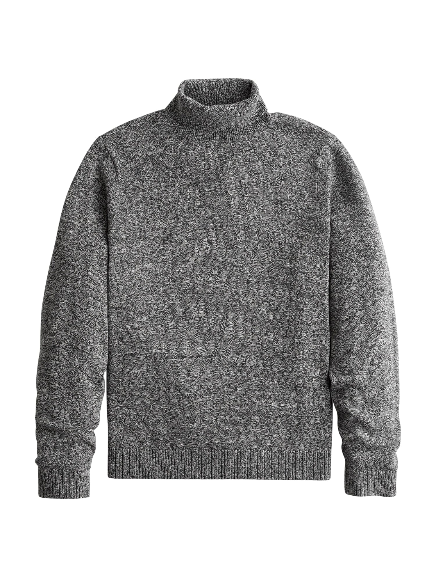 HOLLISTER Megztinis tamsiai pilka