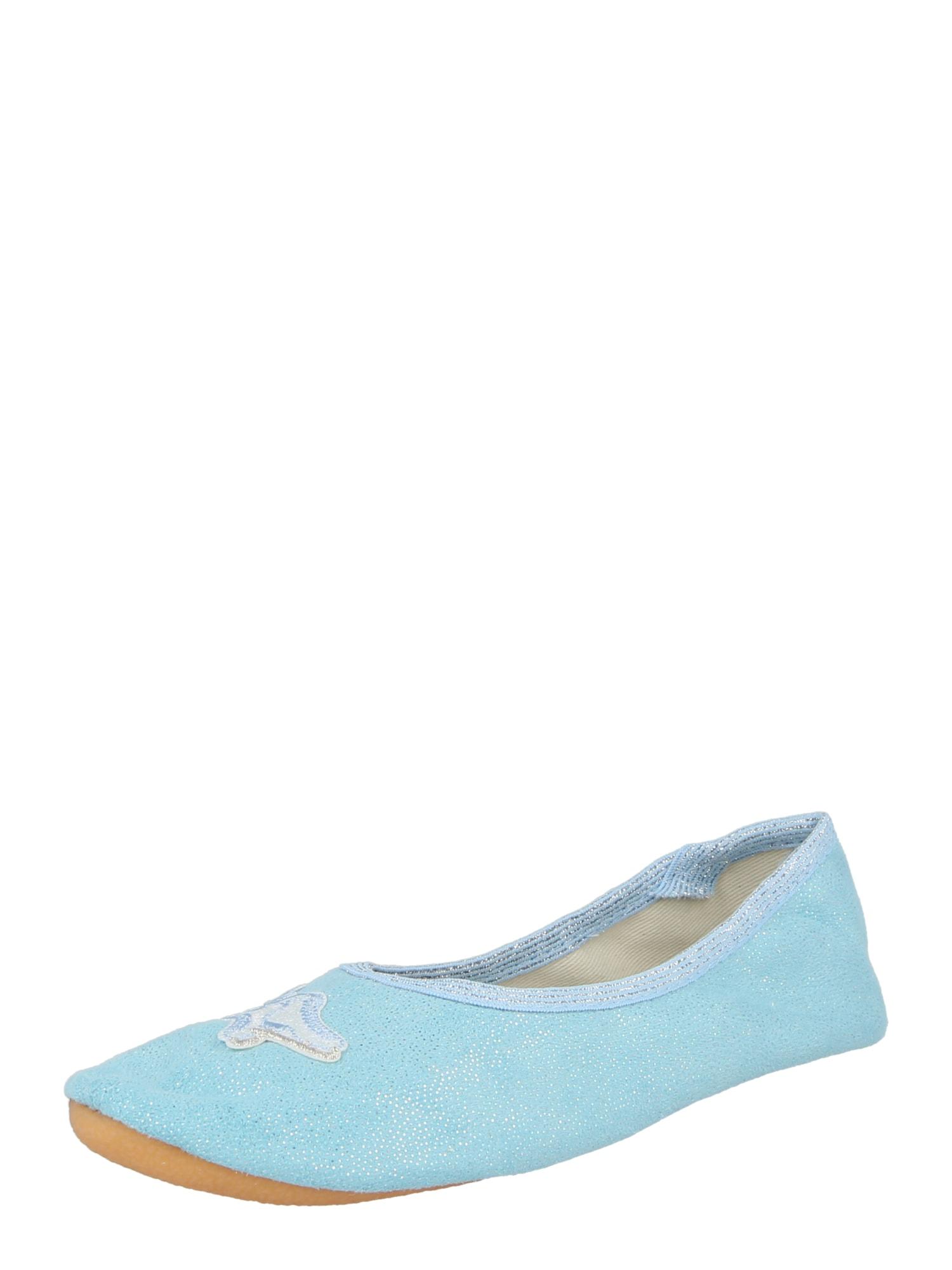 BECK Sportiniai batai 'Ice Dance' šviesiai mėlyna / sidabrinė