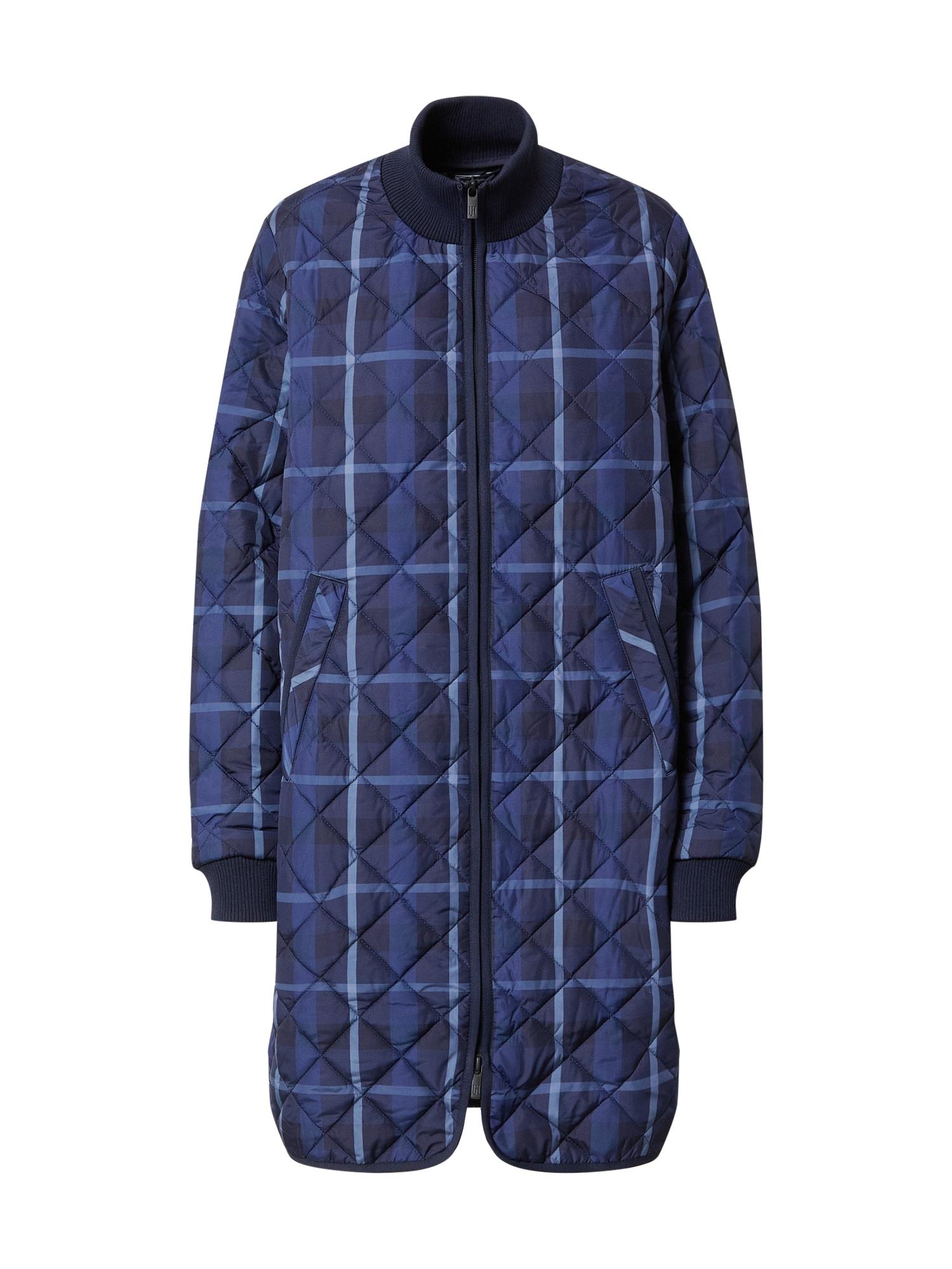 ILSE JACOBSEN Demisezoninis paltas tamsiai mėlyna / šviesiai mėlyna