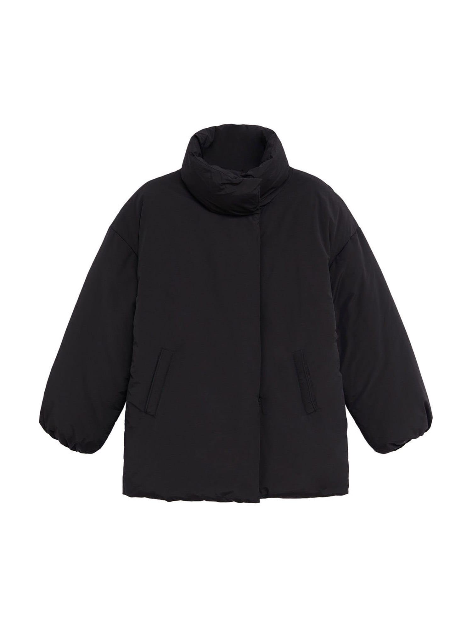 MANGO Přechodná bunda  černá