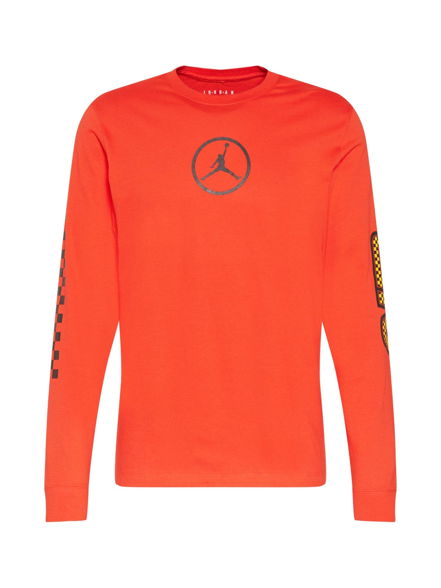 Jordan Marškinėliai raudona / antracito / juoda / geltona
