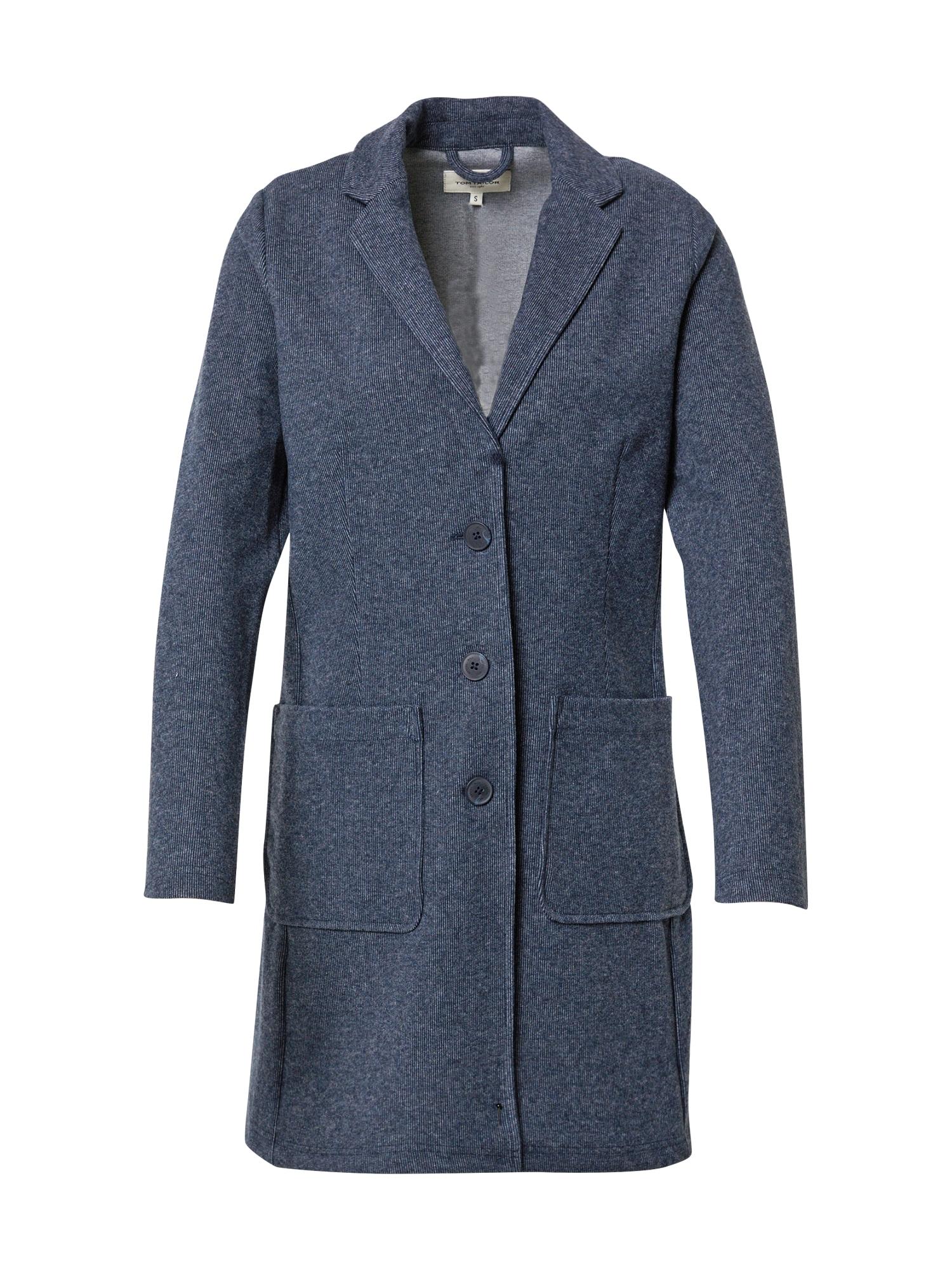 TOM TAILOR Demisezoninis paltas bazalto pilka