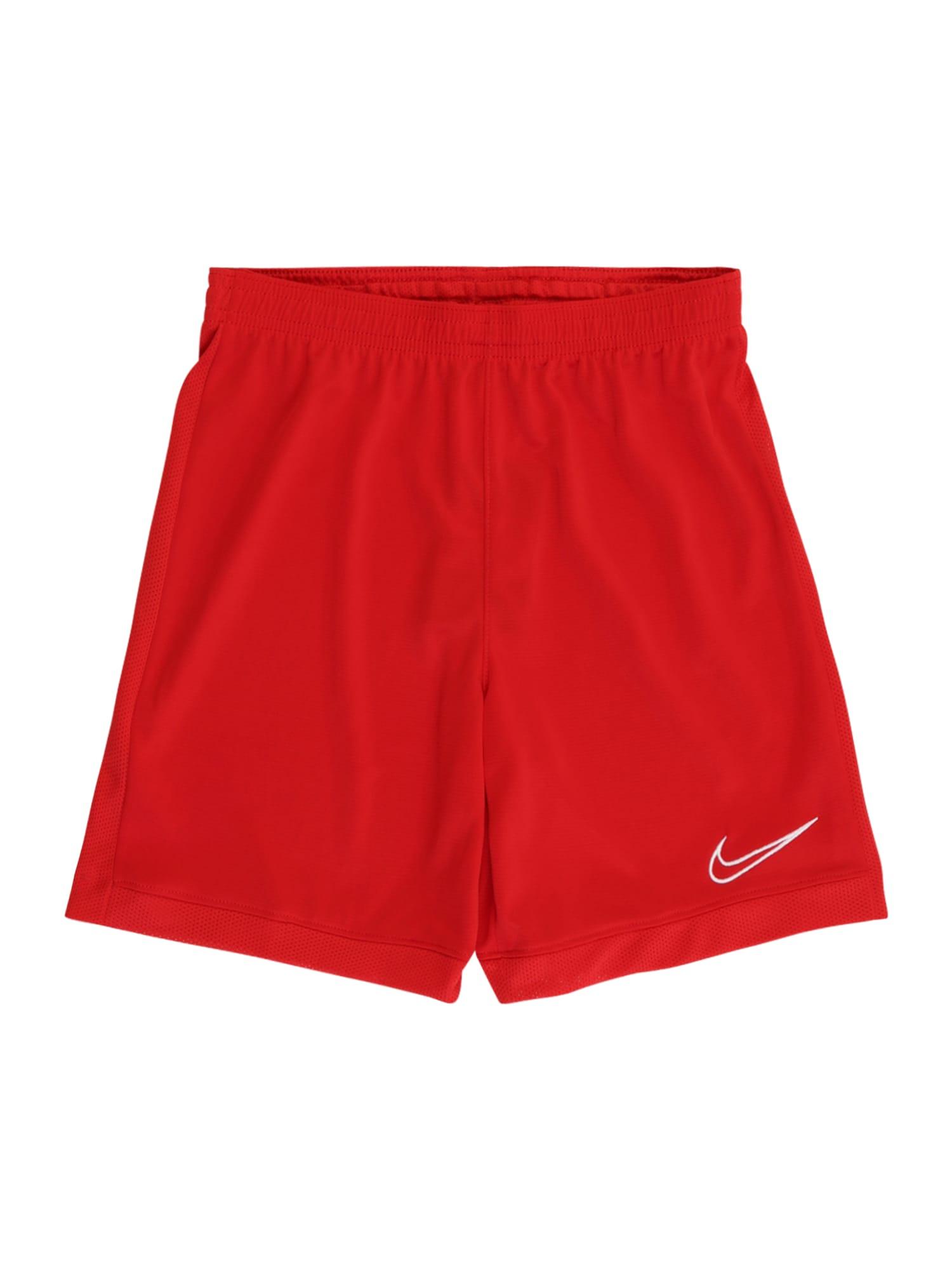 NIKE Sportovní kalhoty  červená