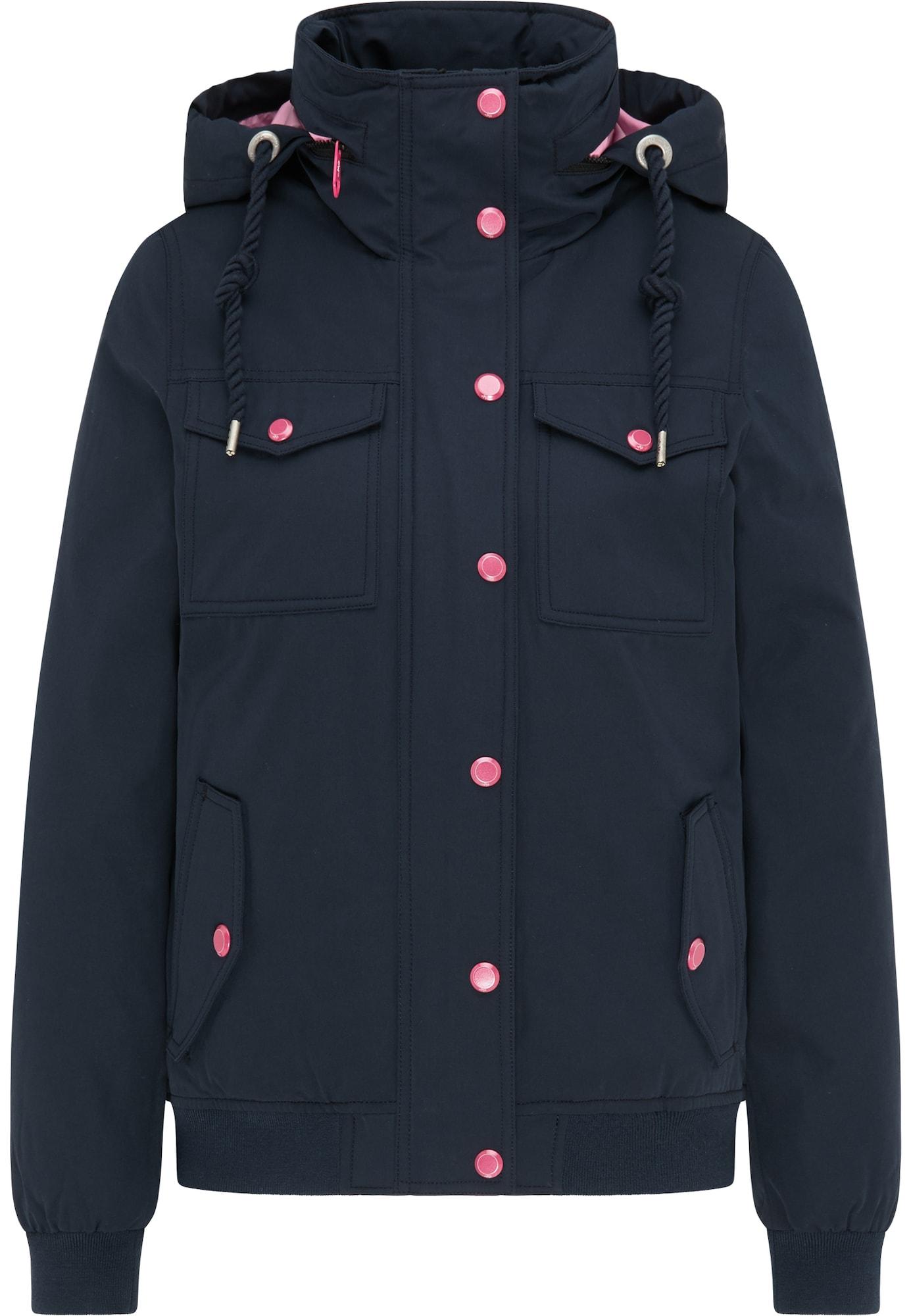 MYMO Žieminė striukė tamsiai mėlyna / rožinė