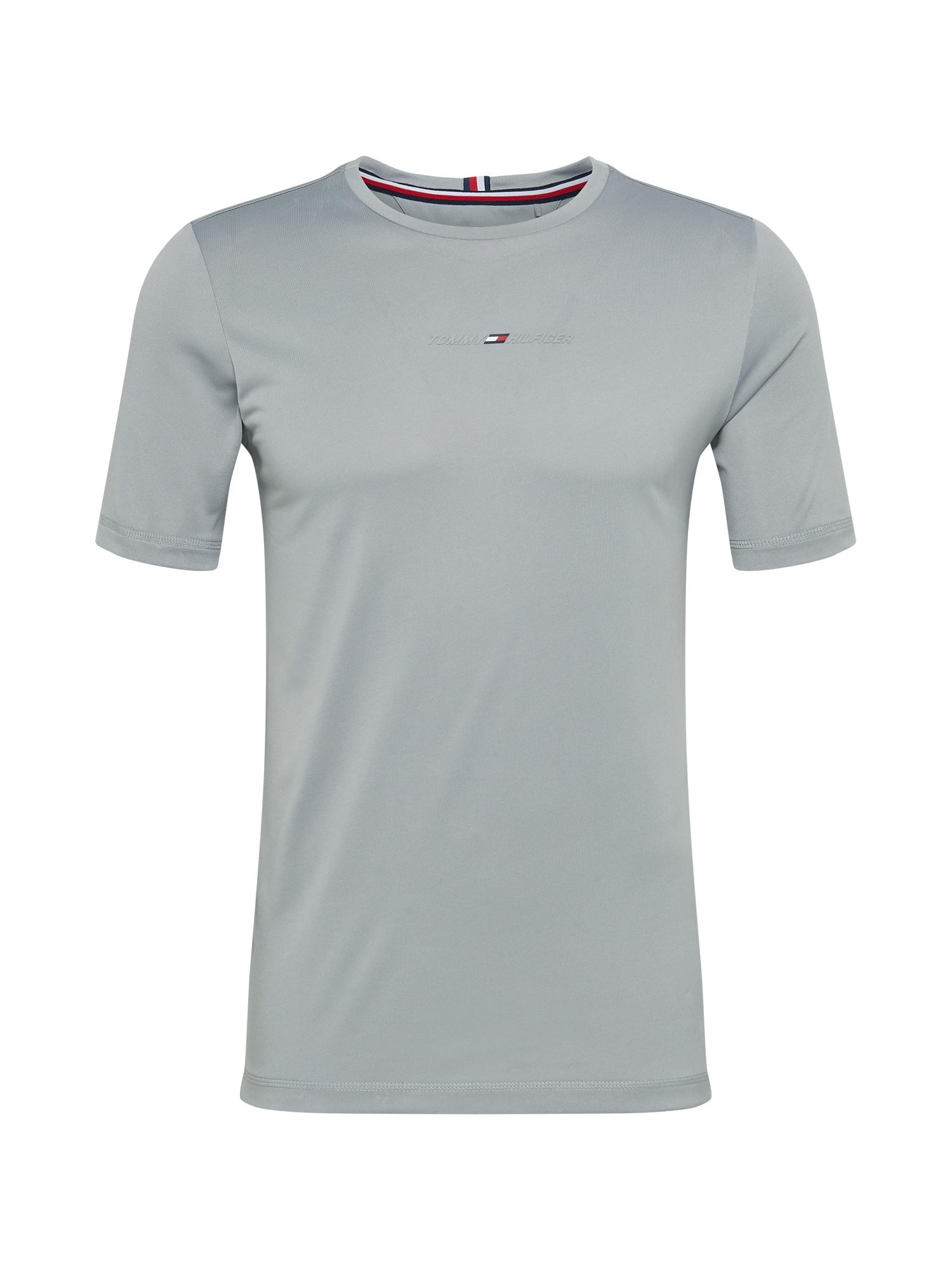 Tommy Sport Sportiniai marškinėliai sidabro pilka