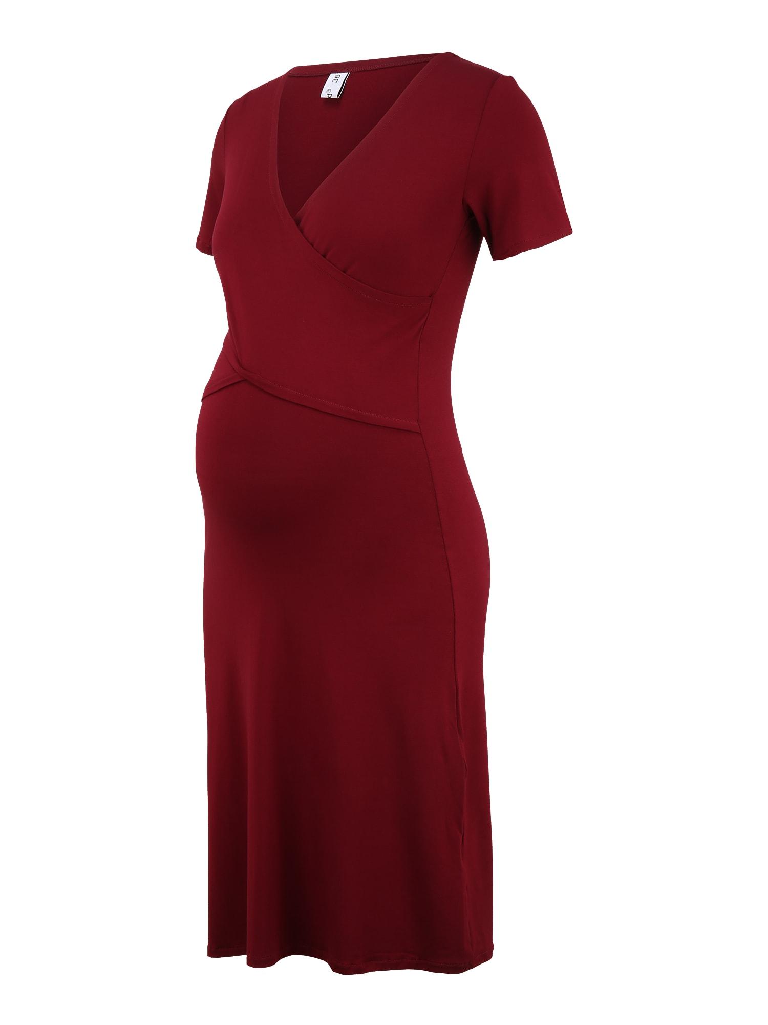 Bebefield Suknelė vyšninė spalva