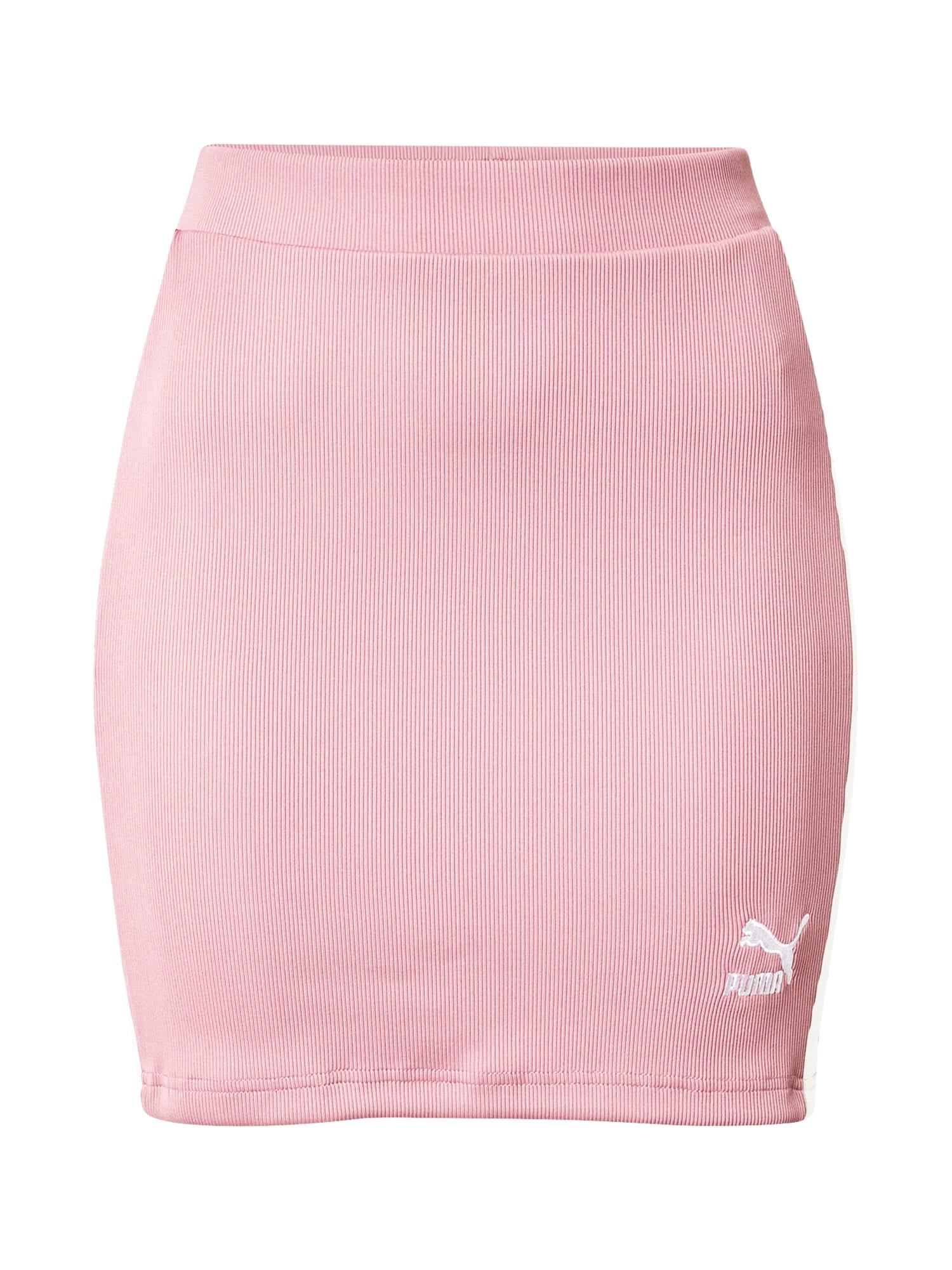 PUMA Sportinio stiliaus sijonas rožinė