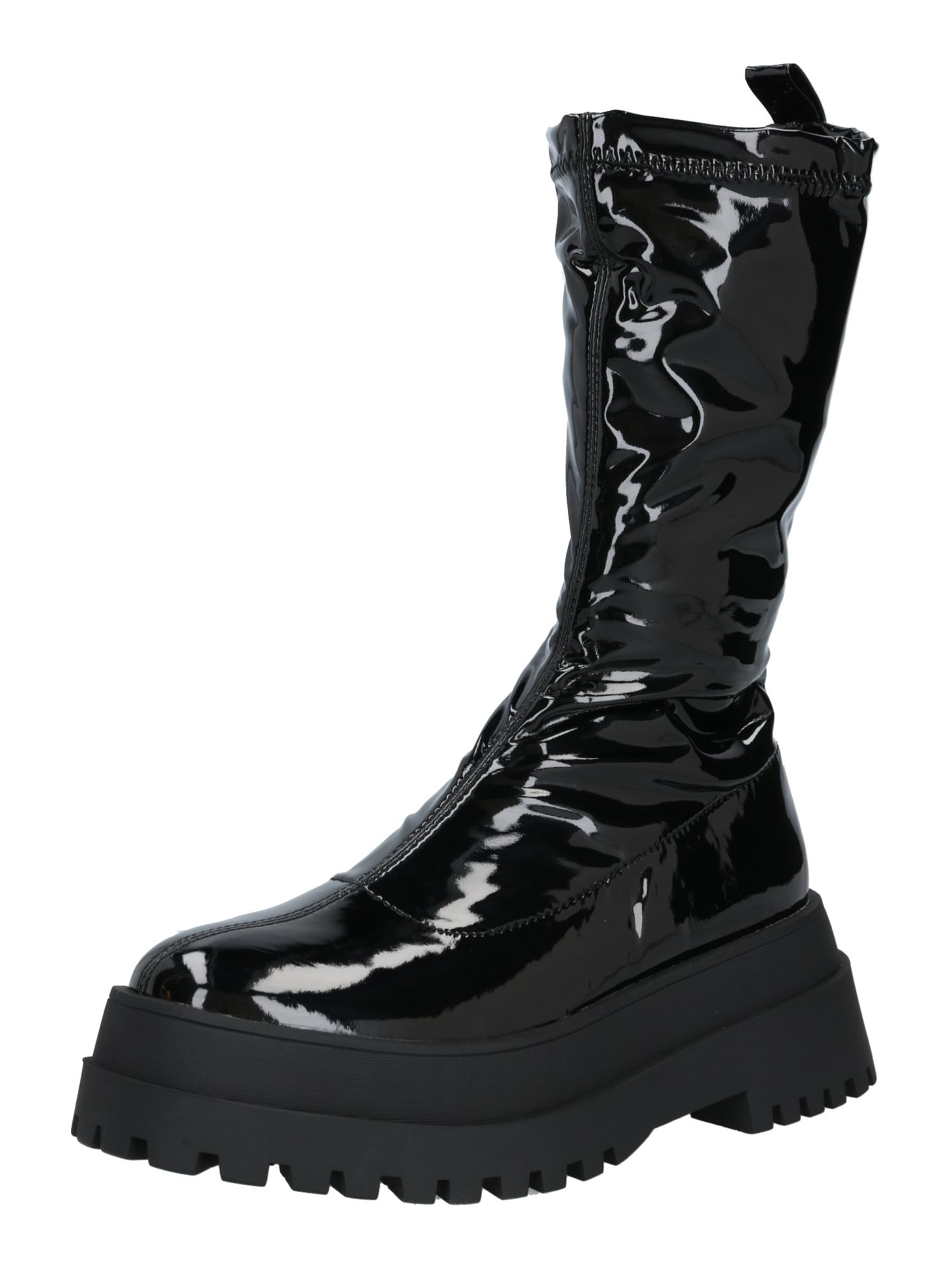 Public Desire Auliniai batai su kulniuku 'Eli' juoda