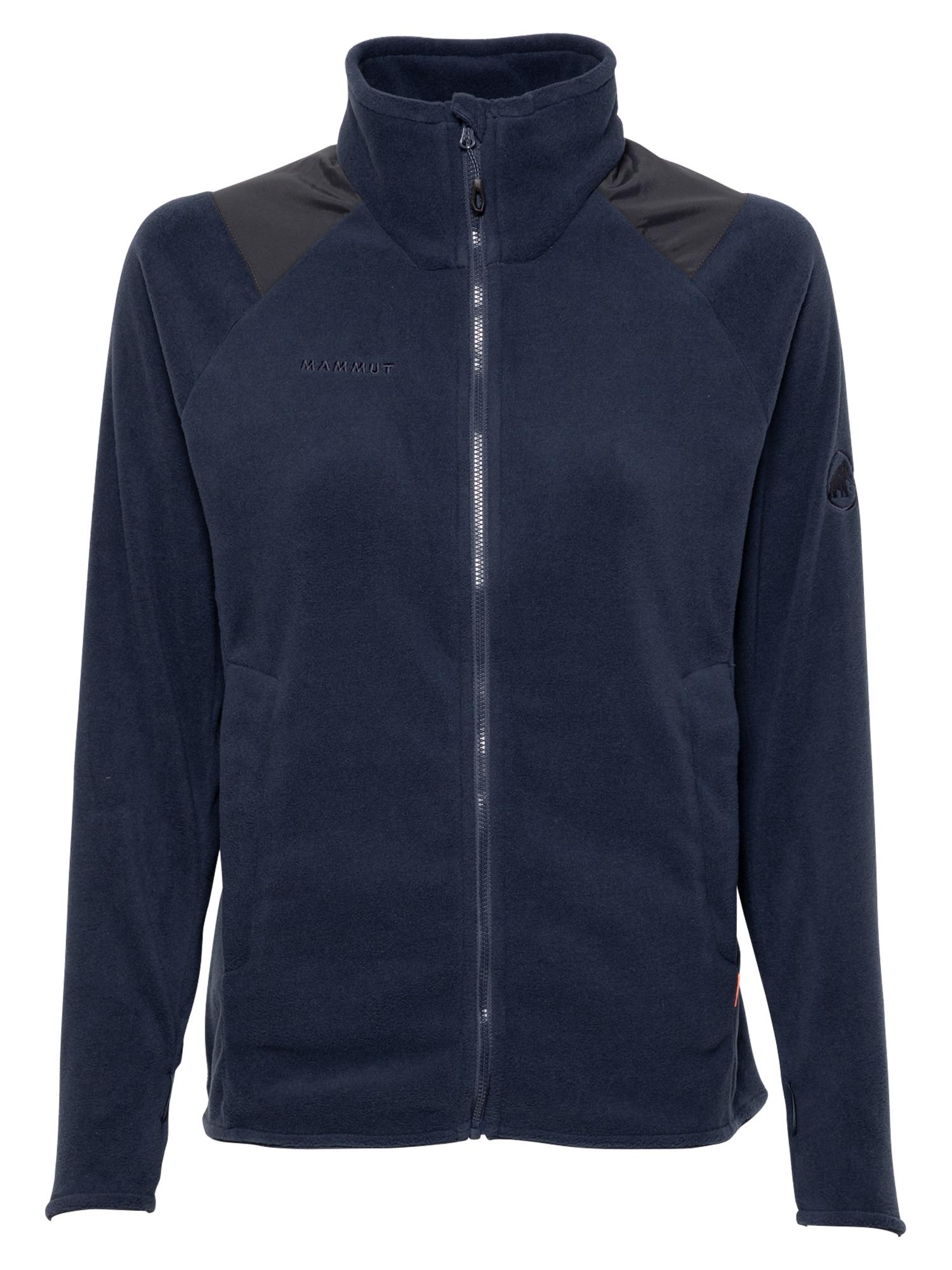MAMMUT Funkcinis flisinis džemperis tamsiai mėlyna / juoda