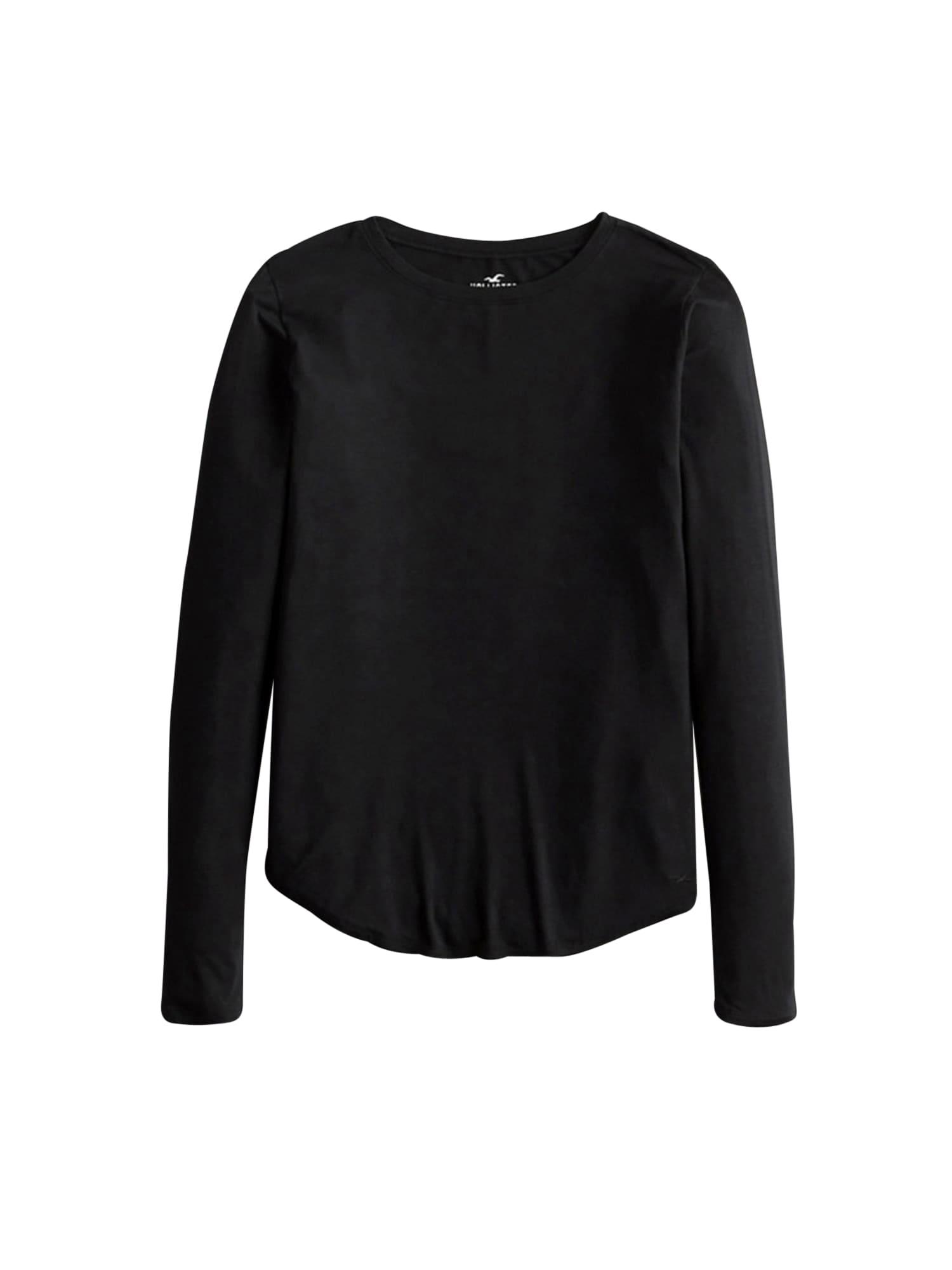 HOLLISTER Tričko  černá