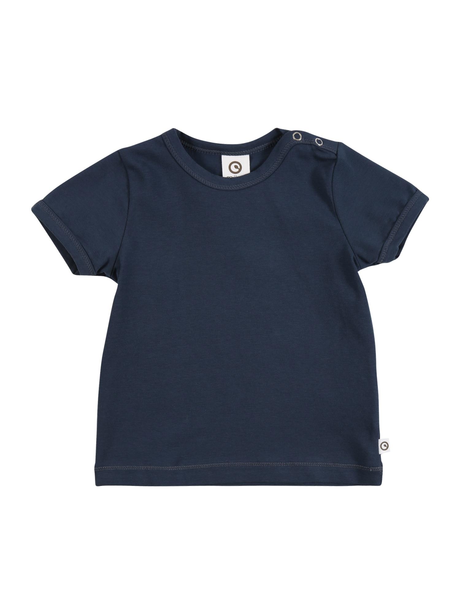 Müsli by GREEN COTTON Marškinėliai tamsiai mėlyna