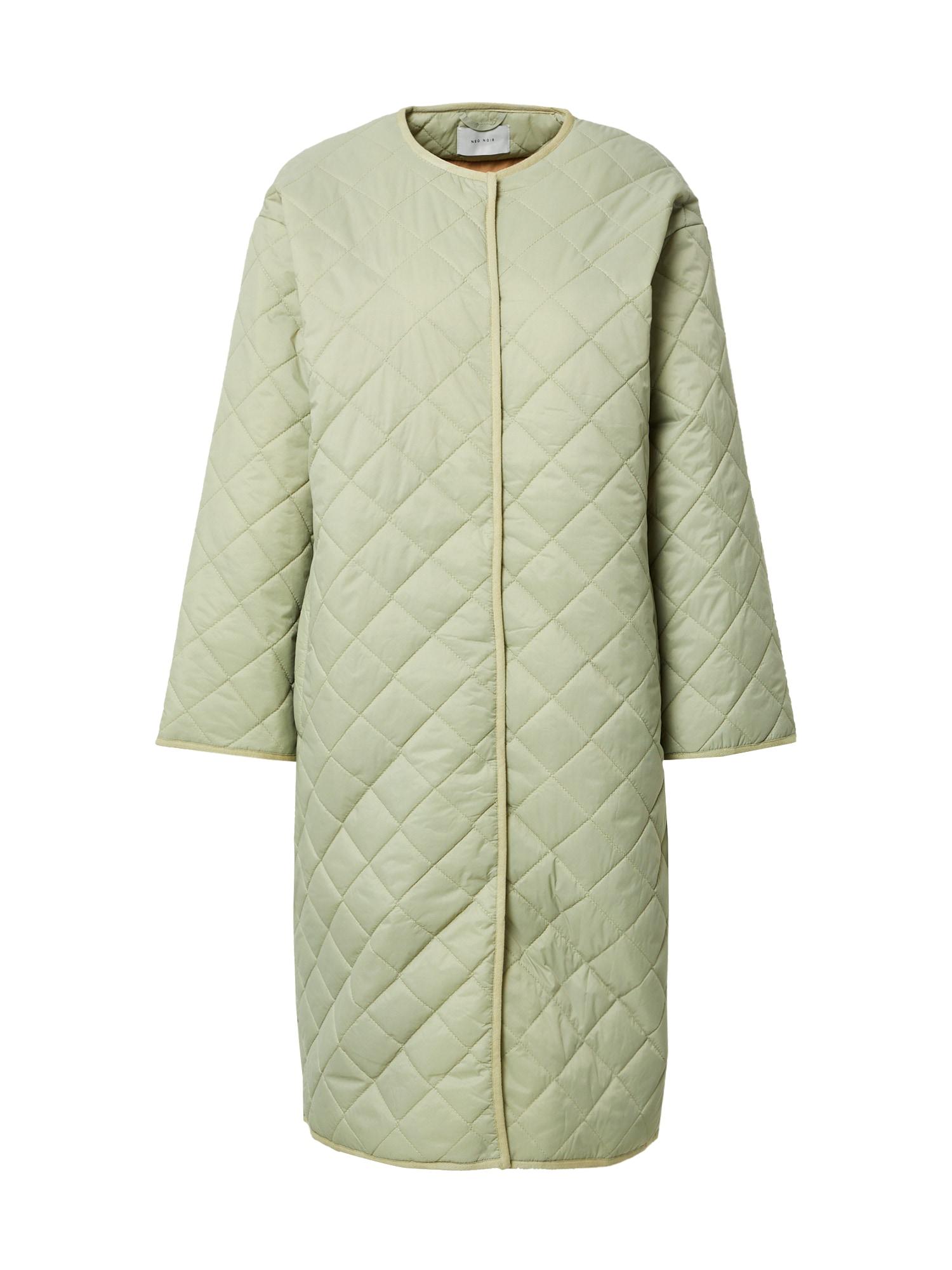 Neo Noir Demisezoninis paltas šviesiai žalia