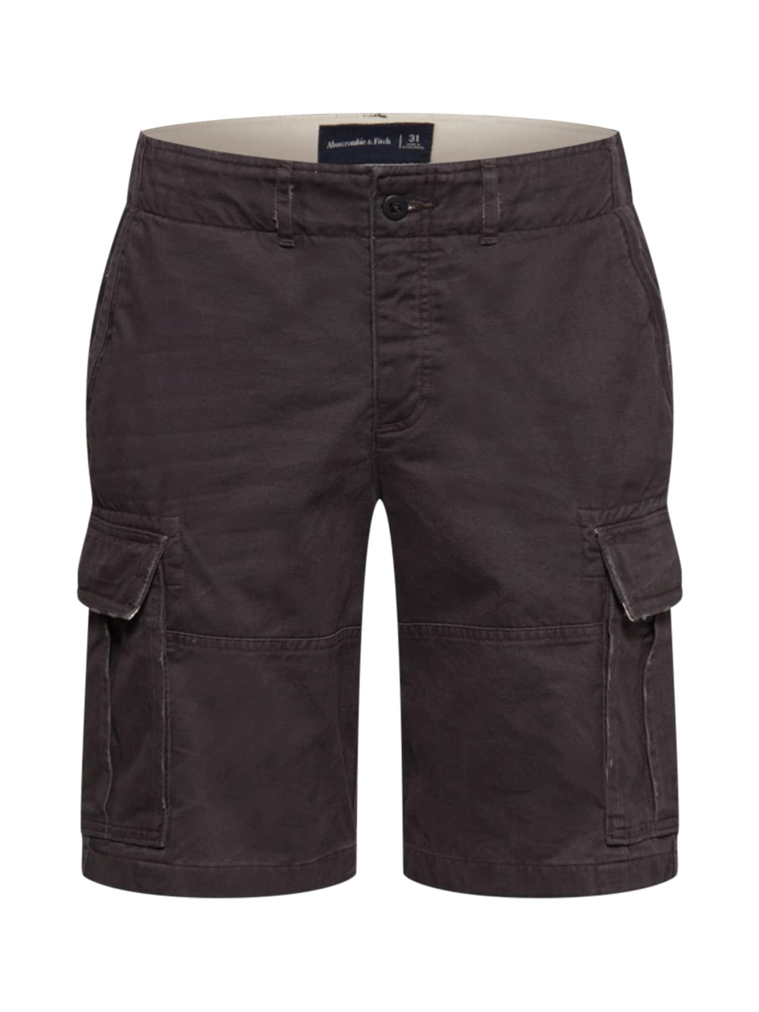 Abercrombie & Fitch Laisvo stiliaus kelnės bazalto pilka