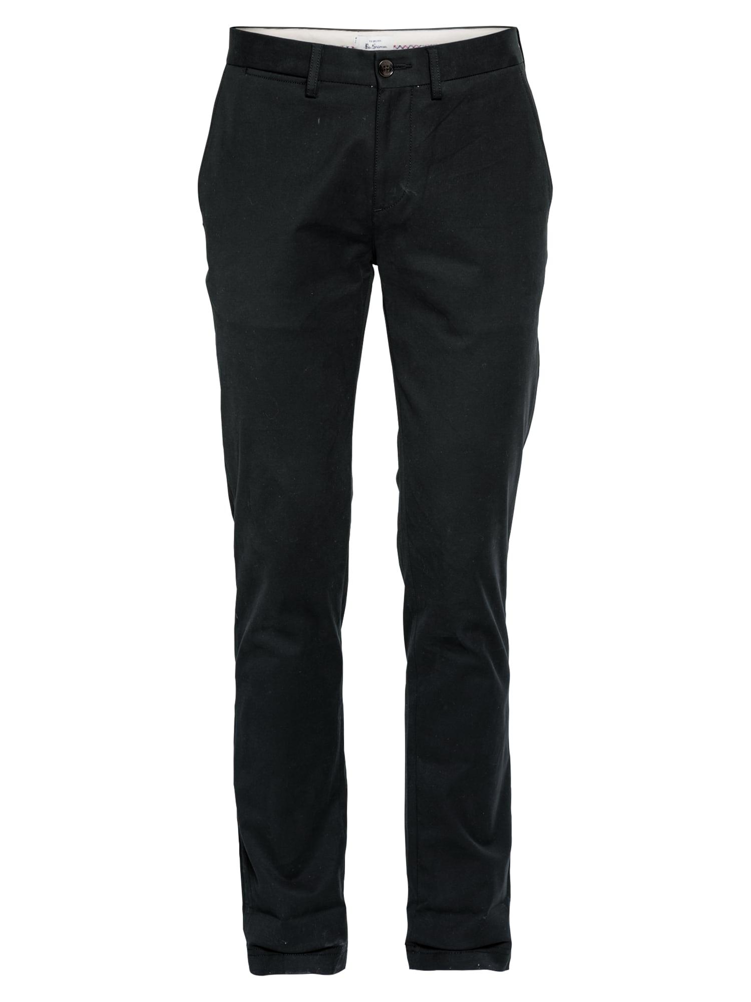 "Ben Sherman ""Chino"" stiliaus kelnės juoda"