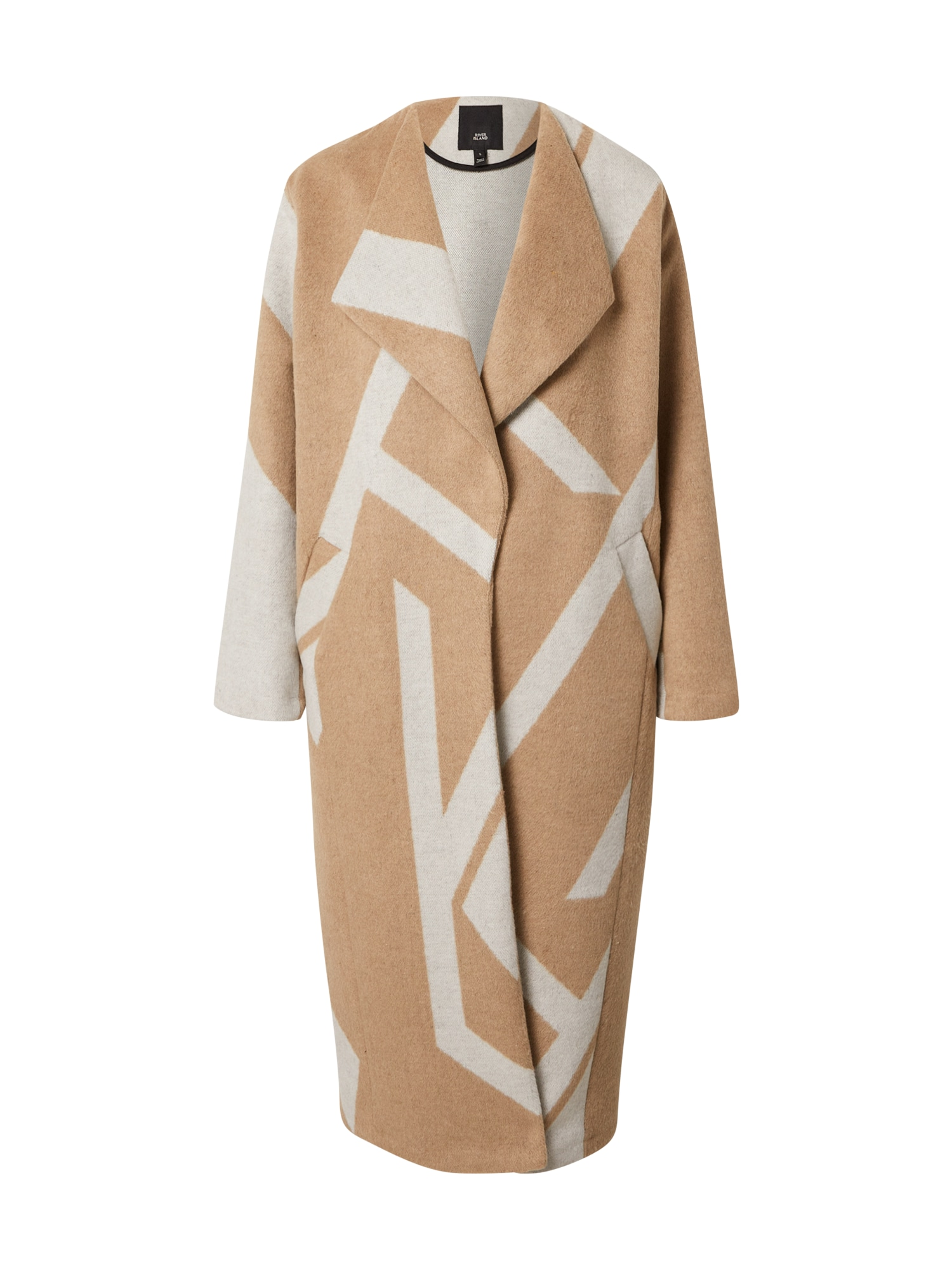 River Island Demisezoninis paltas smėlio / šviesiai ruda