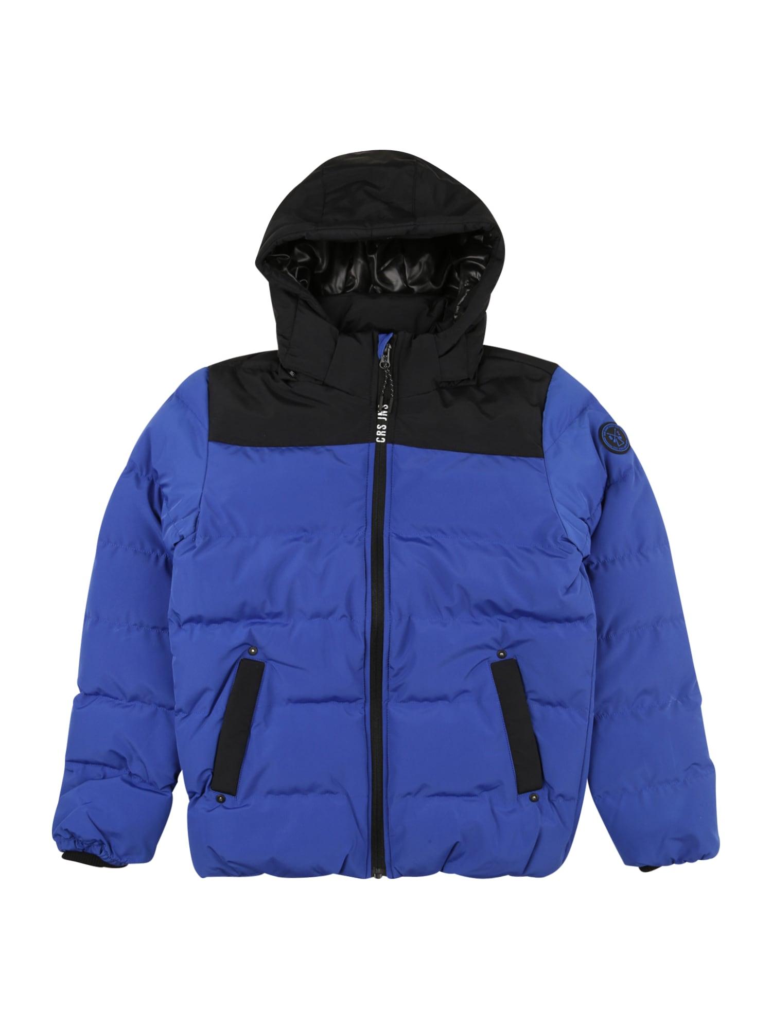 Cars Jeans Žieminė striukė 'SCOLO' kobalto mėlyna / juoda