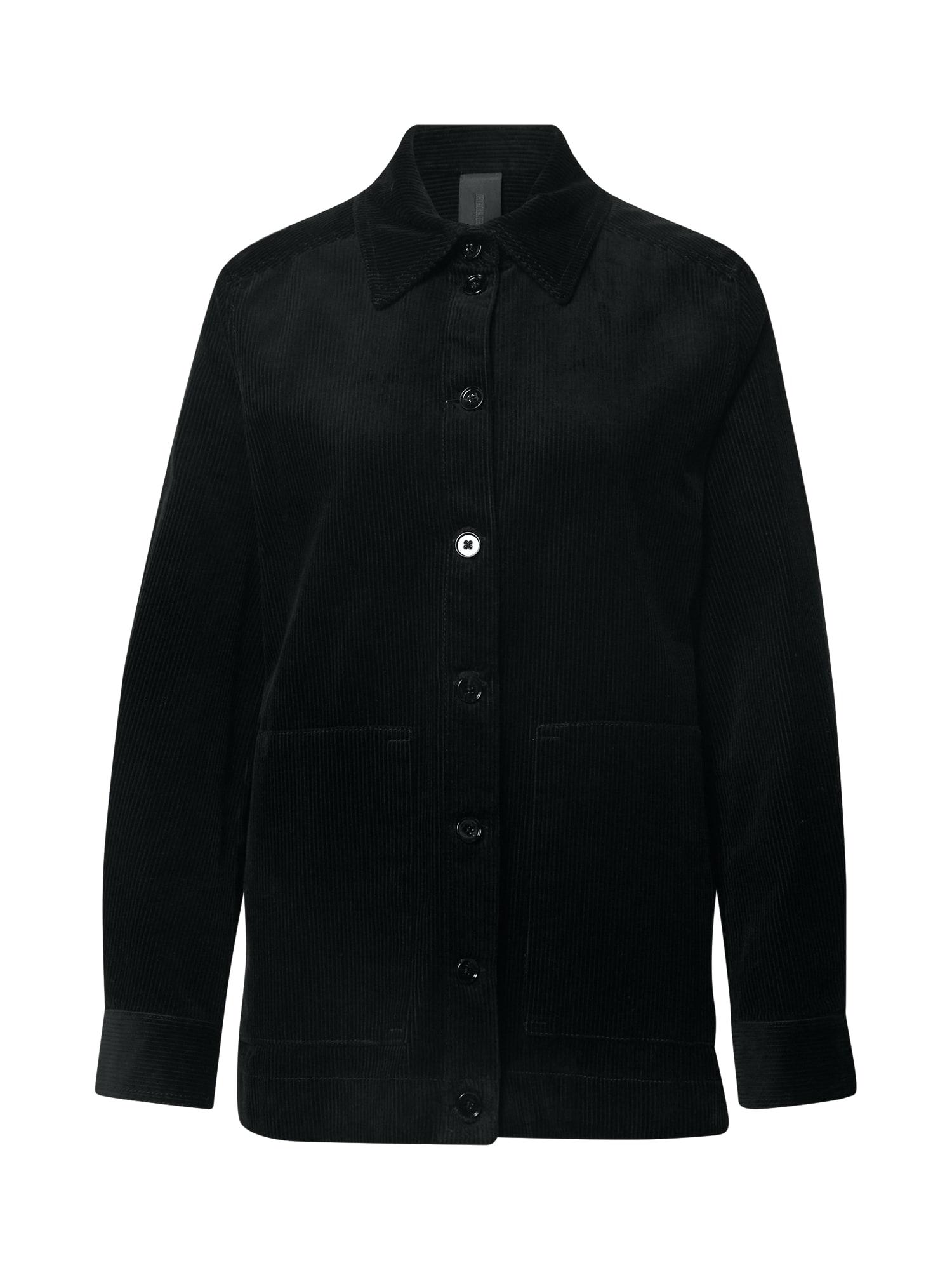 DRYKORN Demisezoninis paltas juoda