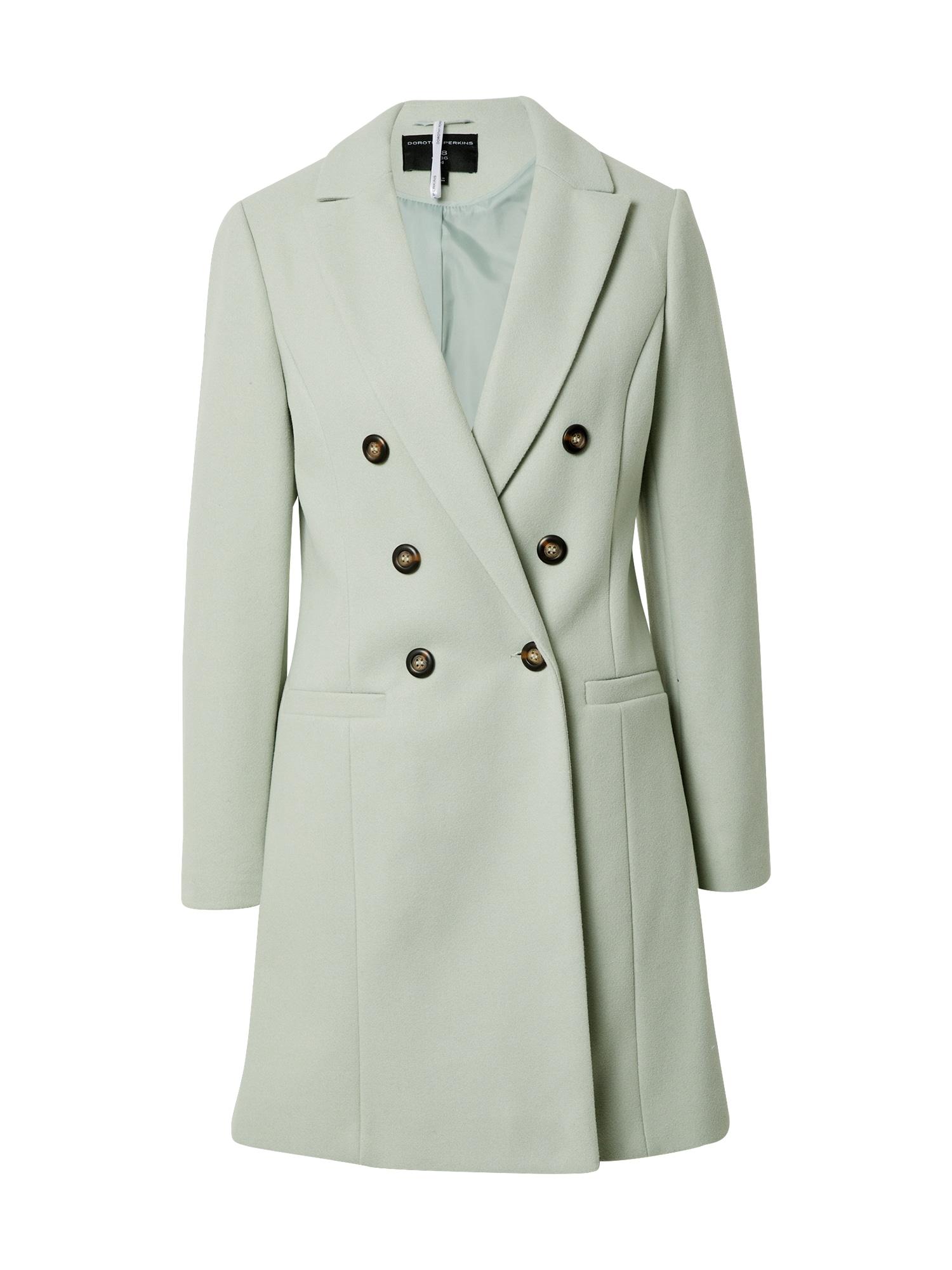 Dorothy Perkins Demisezoninis paltas pastelinė žalia