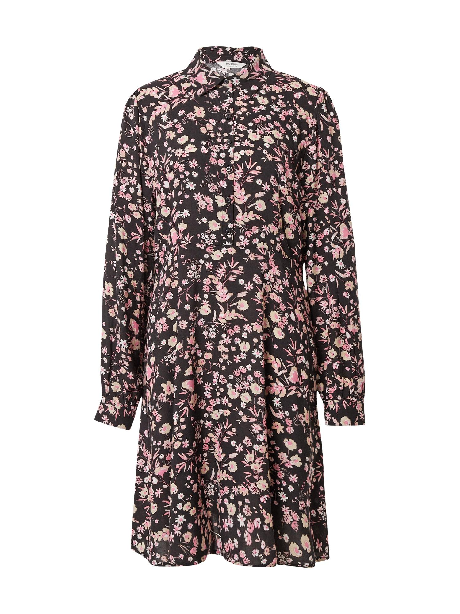 b.young Palaidinės tipo suknelė pastelinė rožinė / juoda / smėlio