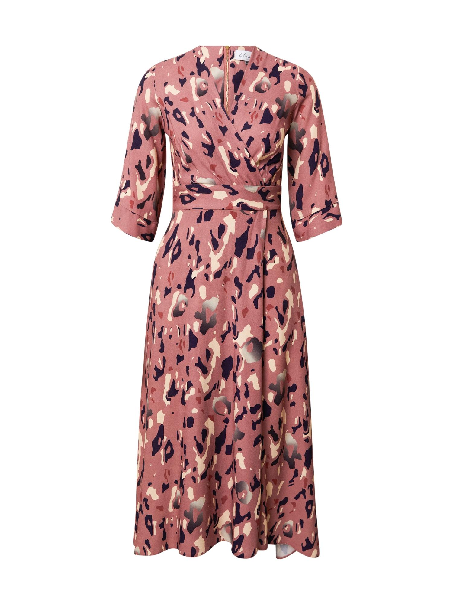 Closet London Suknelė rožinė / mišrios spalvos
