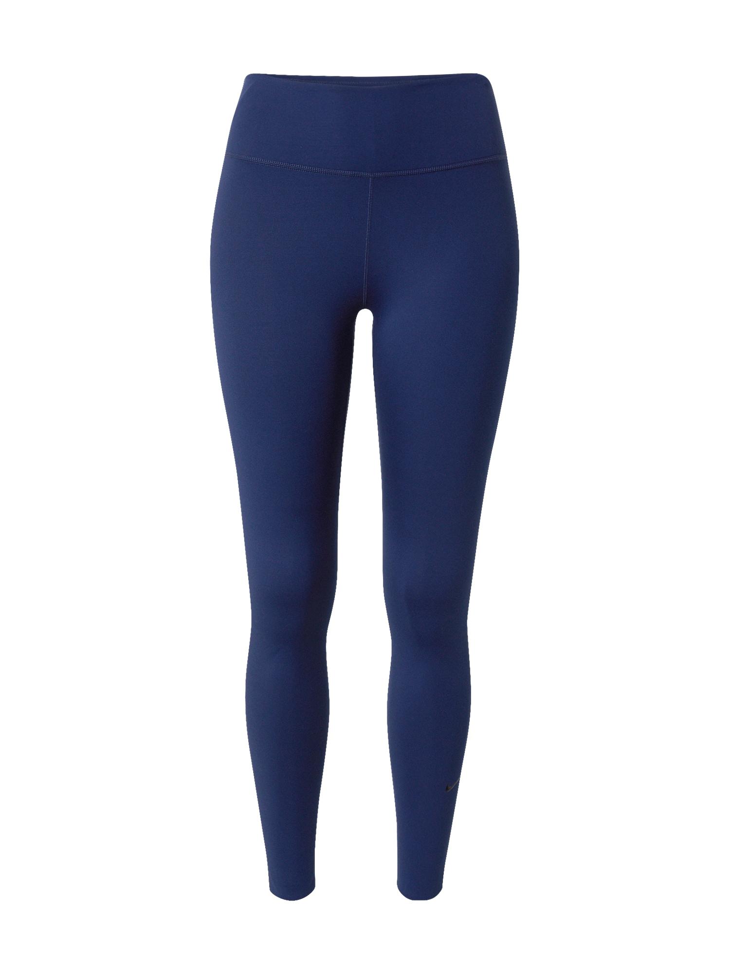 NIKE Sportovní kalhoty 'One Luxe'  modrá