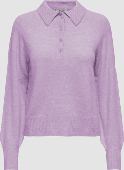 Only Corinne Langarm Strick Polo Top
