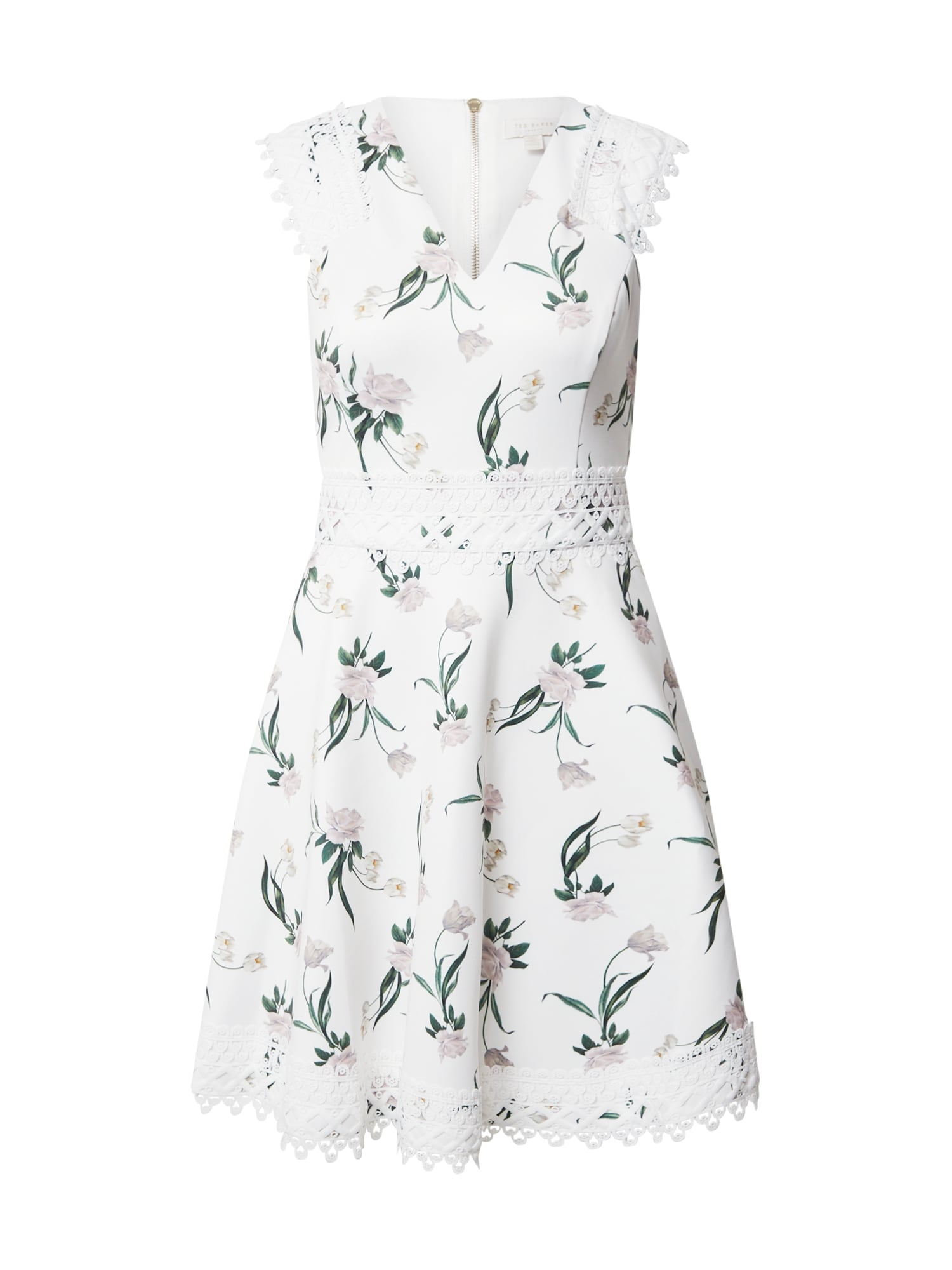 Ted Baker Suknelė balta / mišrios spalvos