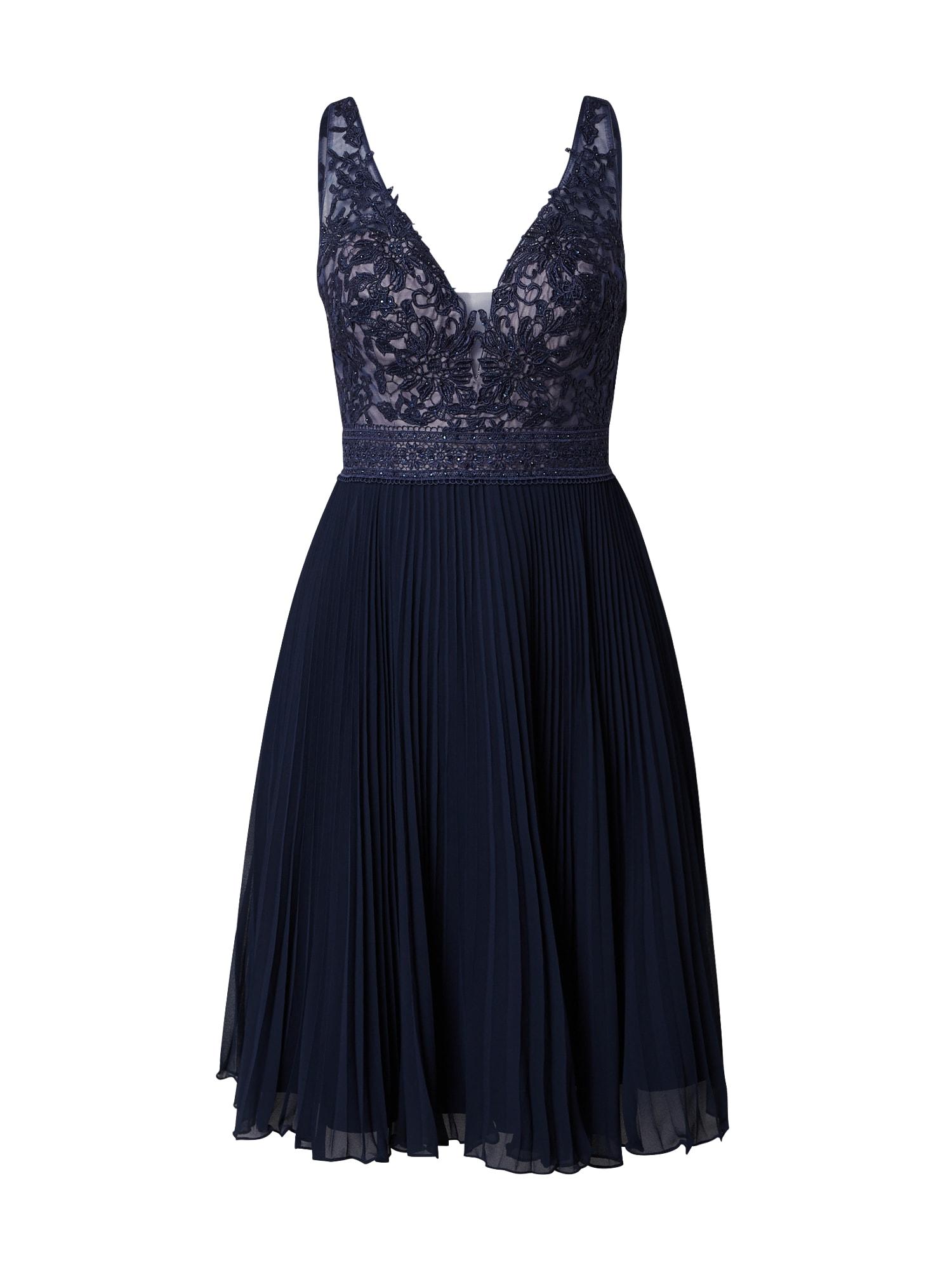 LUXUAR Kokteilinė suknelė tamsiai mėlyna