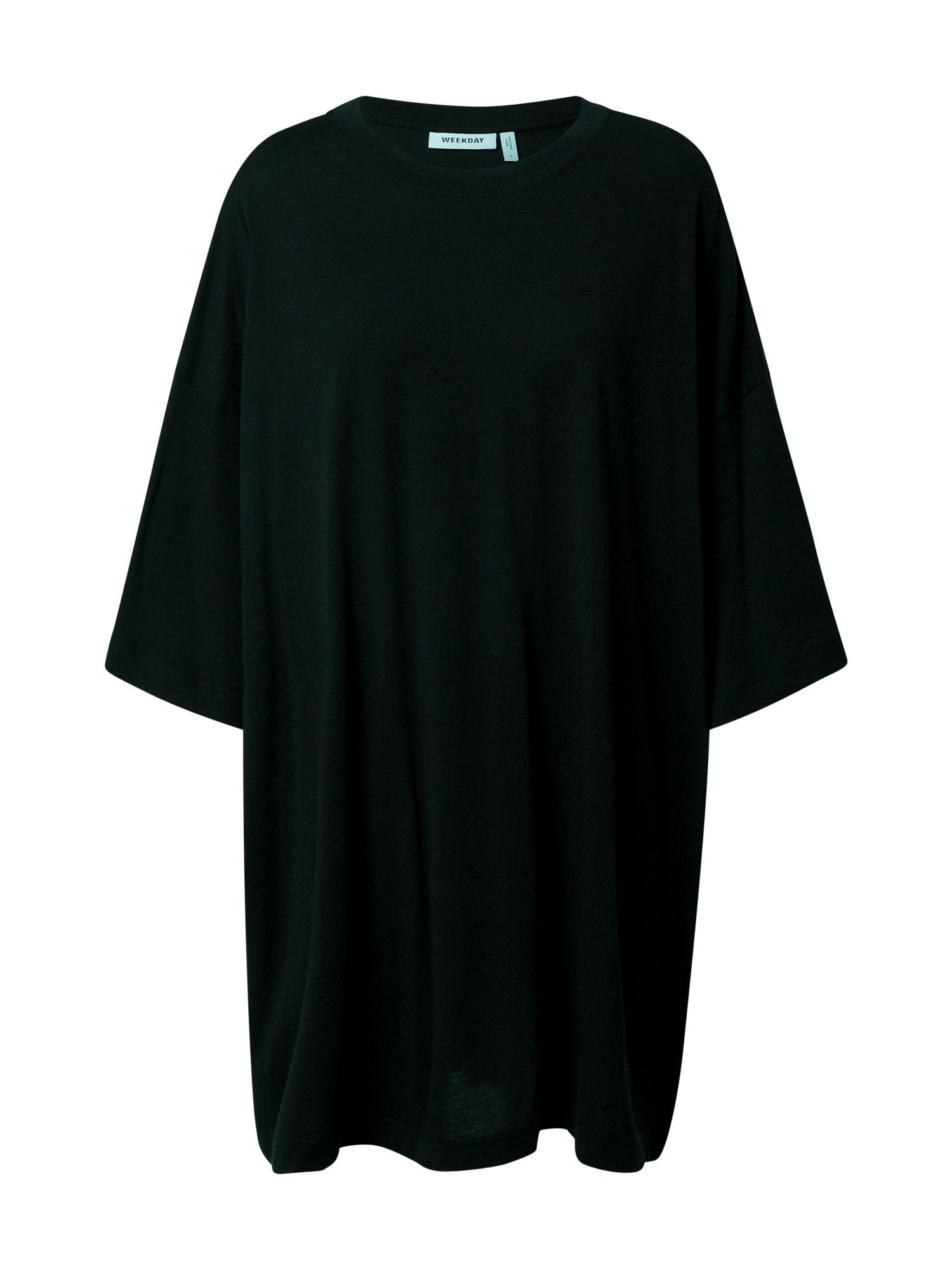 WEEKDAY Marškinėliai juoda