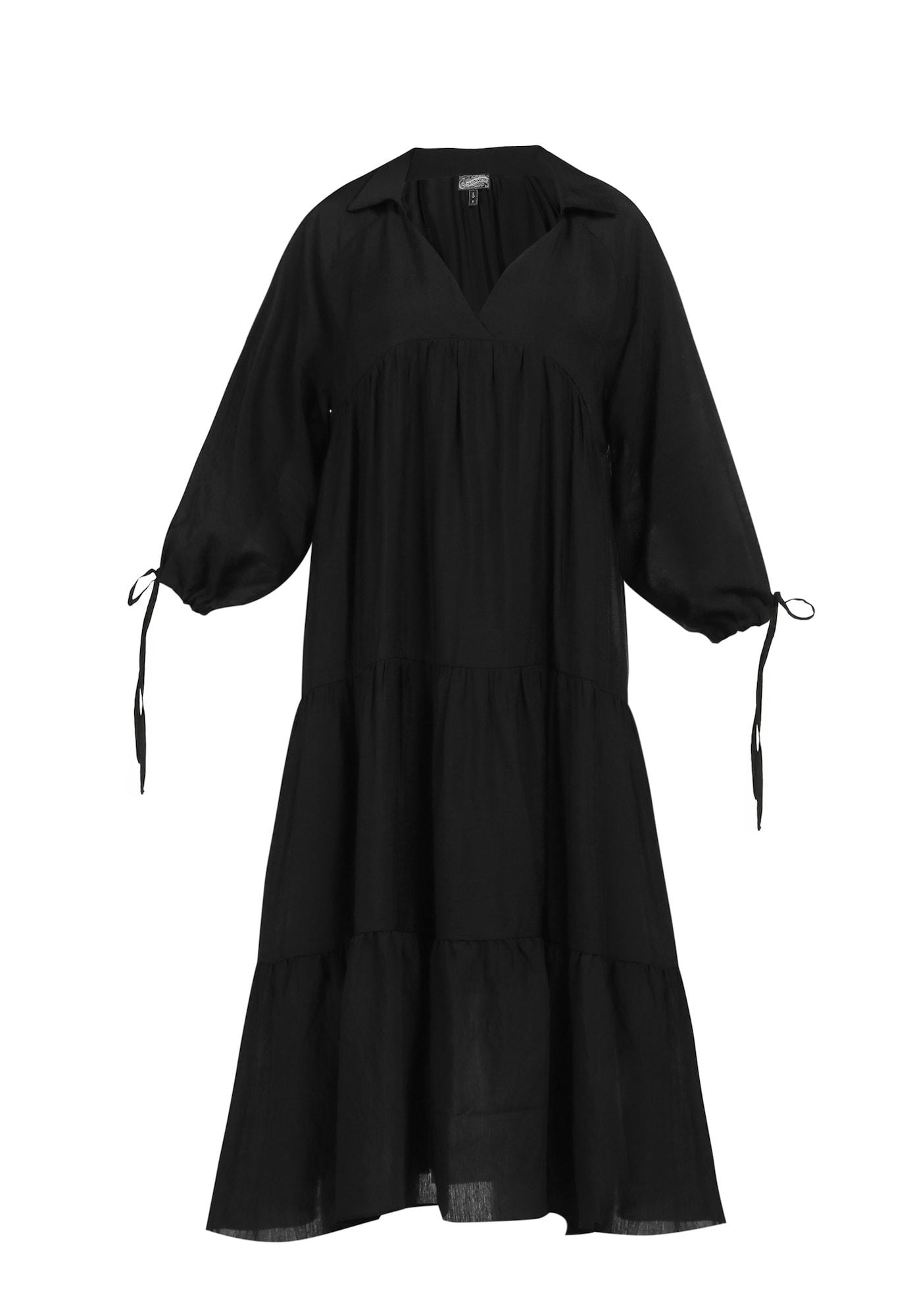 DreiMaster Vintage Vasarinė suknelė juoda
