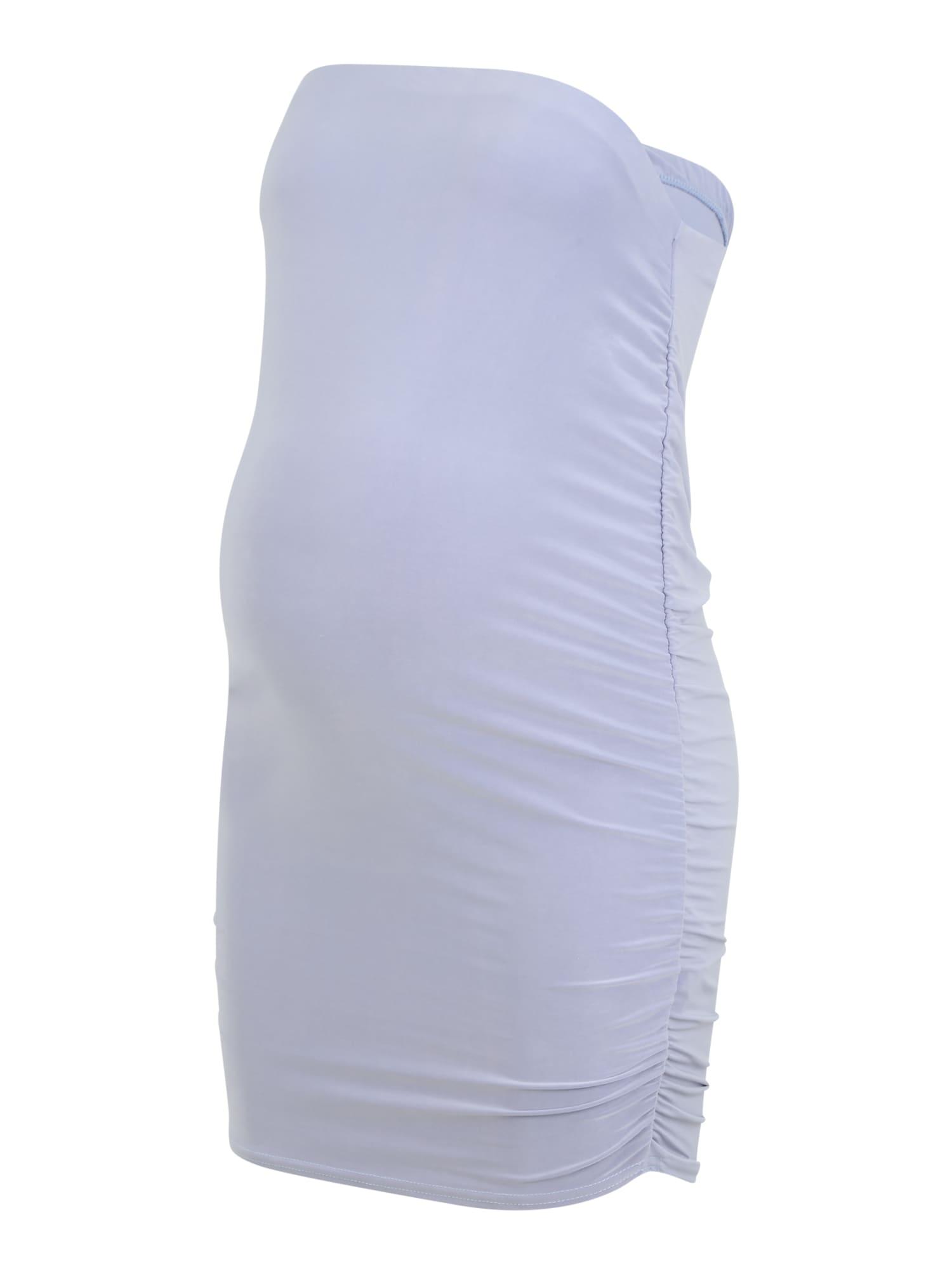 Missguided Maternity Sijonas mėlyna dūmų spalva